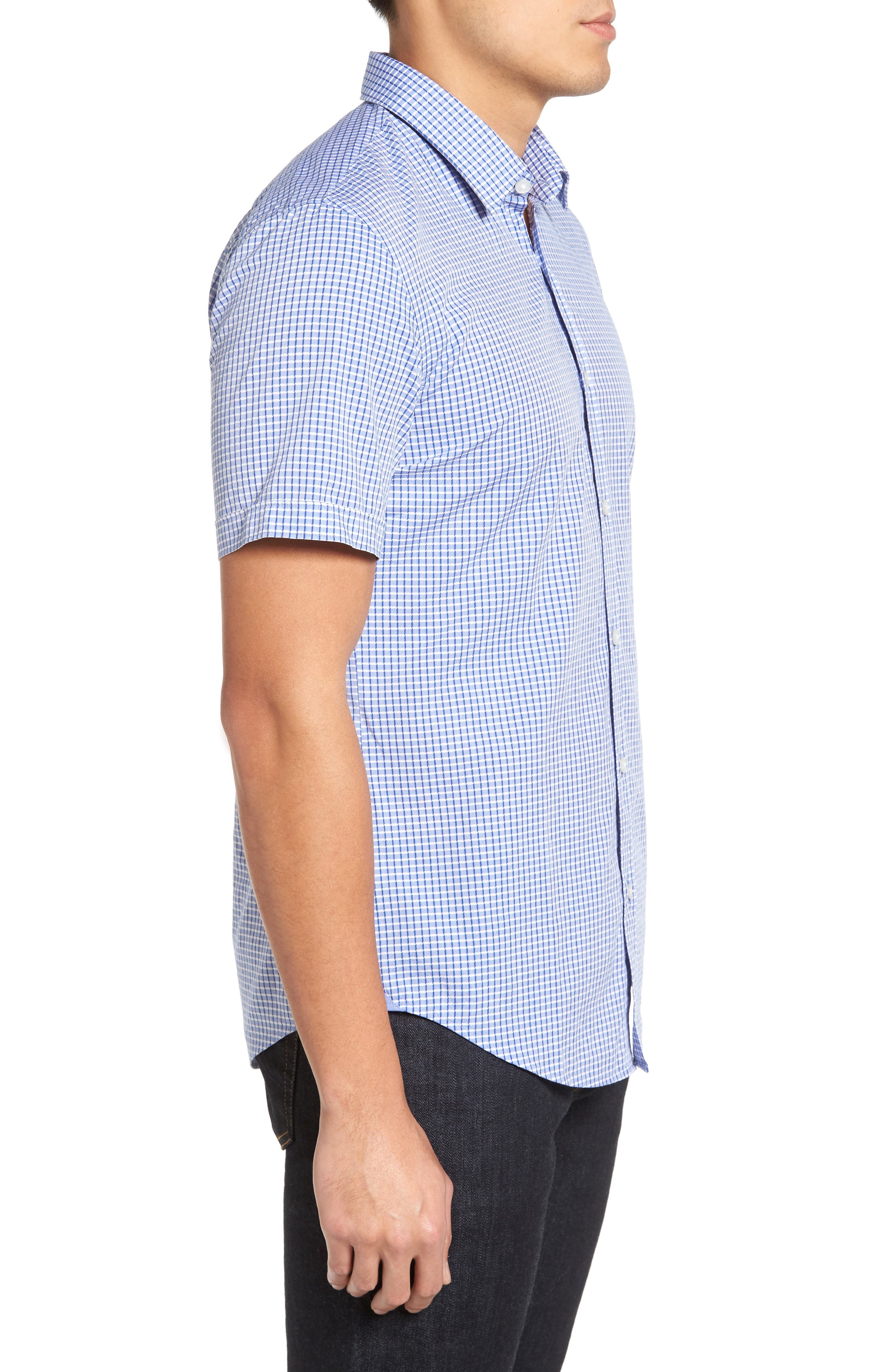 Alternate Image 3  - BOSS Ronn Check Sport Shirt