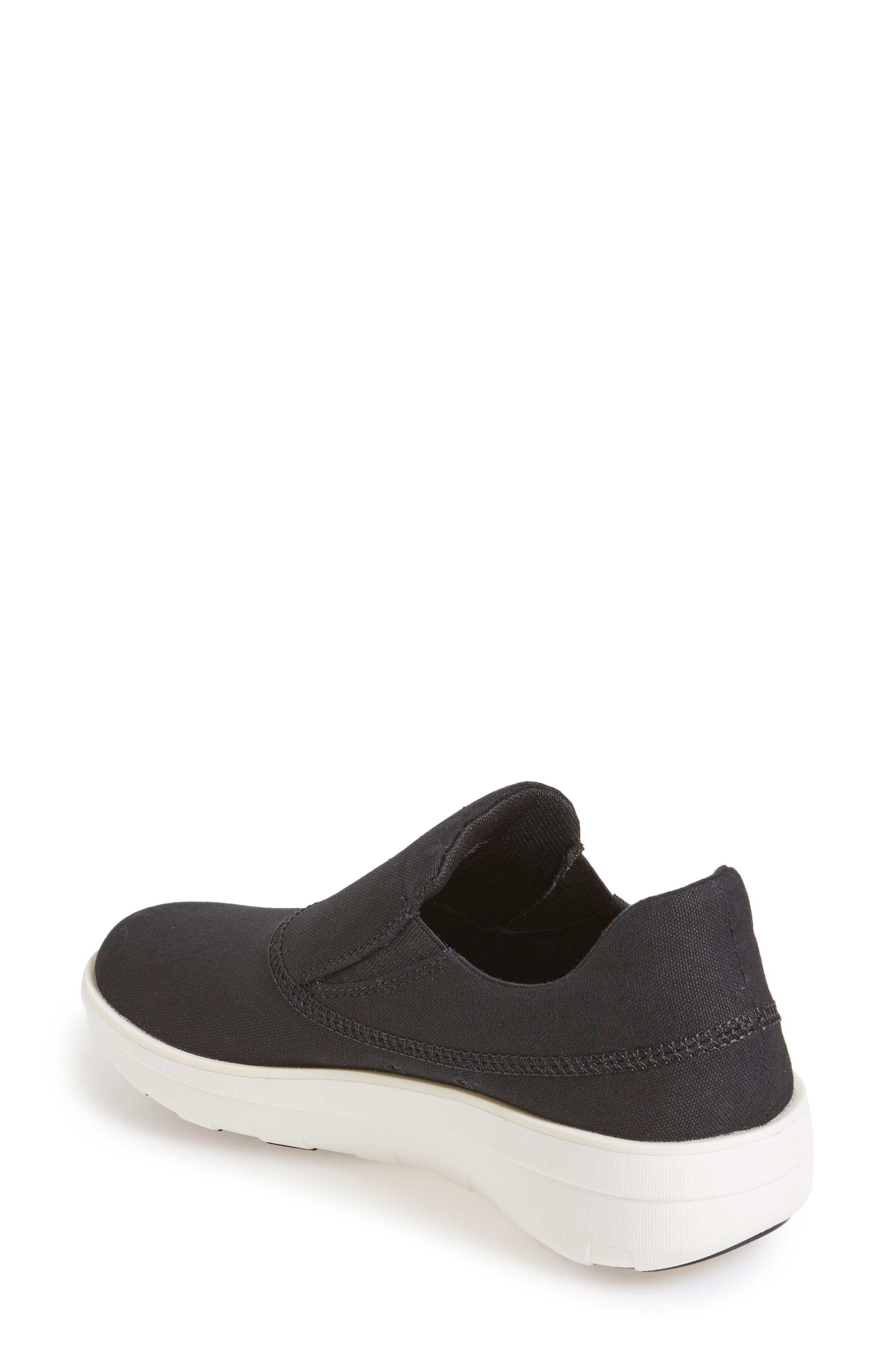 Alternate Image 2  - FitFlop Loaff Slip-On Sneaker