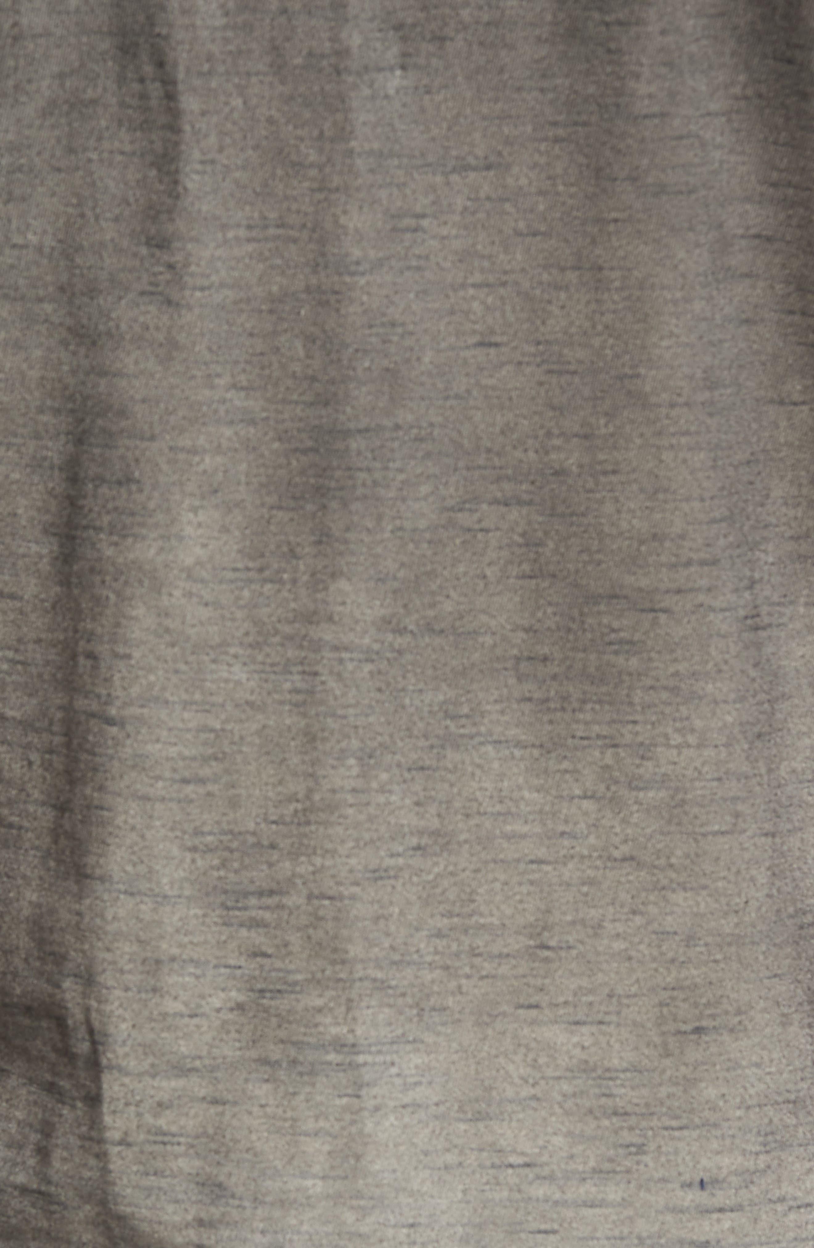Kendrick Spray Heather Jersey T-Shirt,                             Alternate thumbnail 5, color,                             Coal