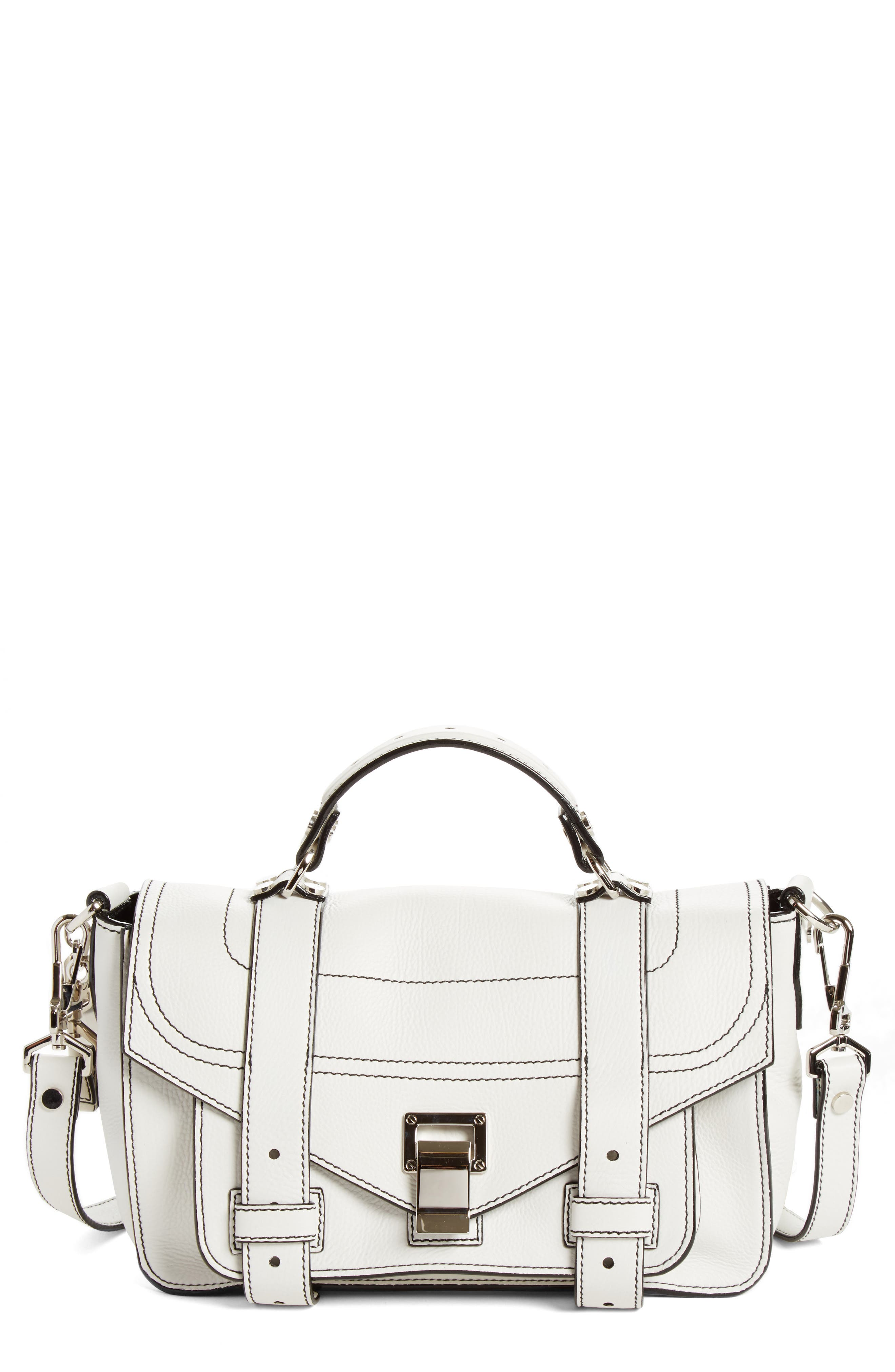 PROENZA SCHOULER Tiny PS1+ Grainy Leather Satchel