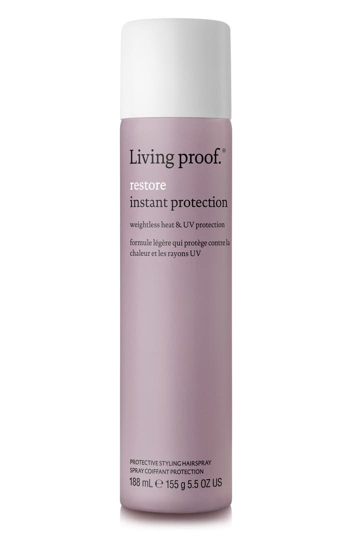 Living proof restore instant protection protective styling hairspray nordstrom - Alternative uses of hairspray ...