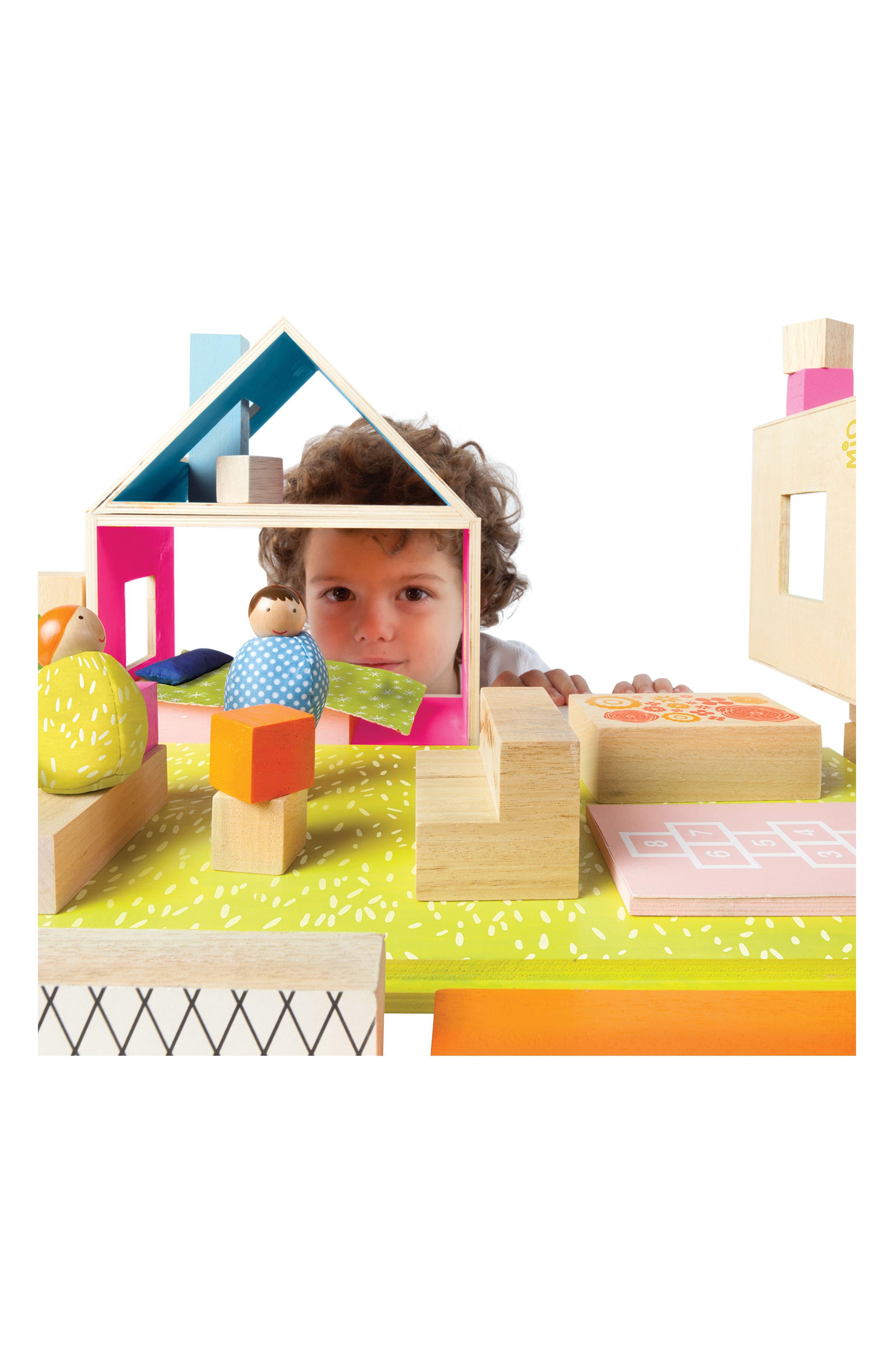 Alternate Image 5  - Manhattan Toy MiO Playing Eating Sleeping Working Blocks