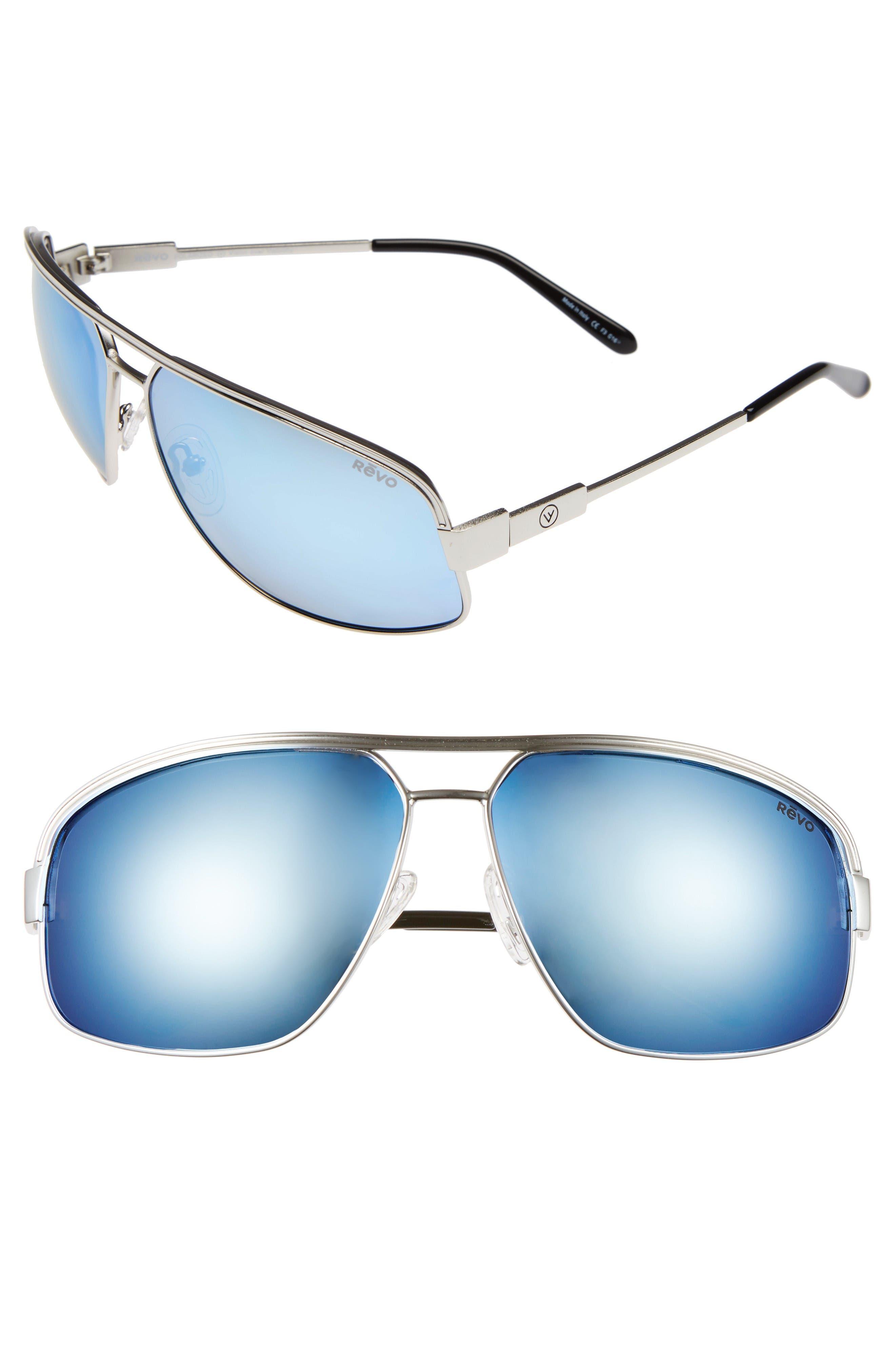 Revo Stargazer 67mm Aviator Sunglasses