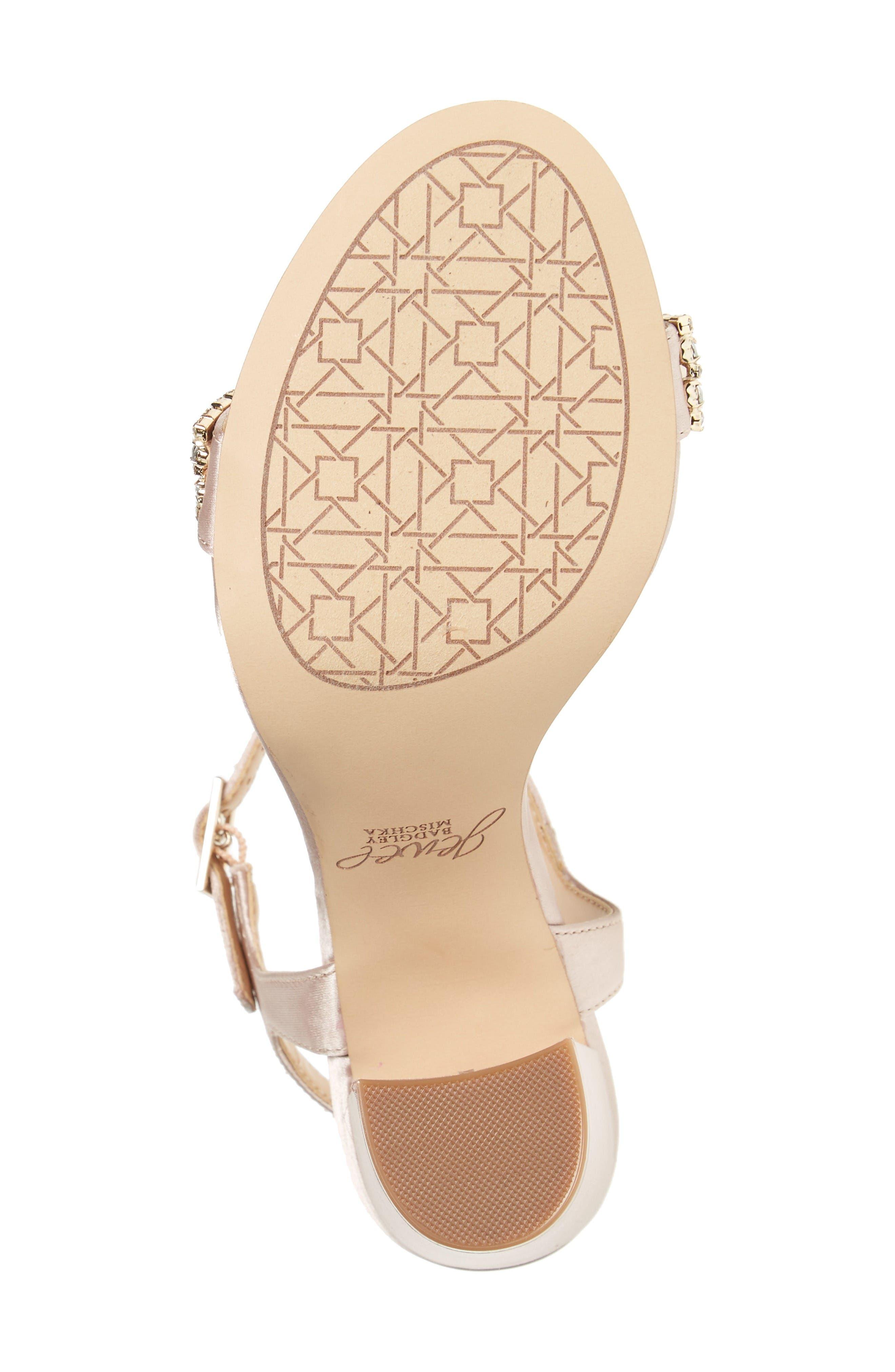 Alternate Image 2  - Jewel Badgley Mischka Hendricks Embellished Block Heel Sandal (Women)