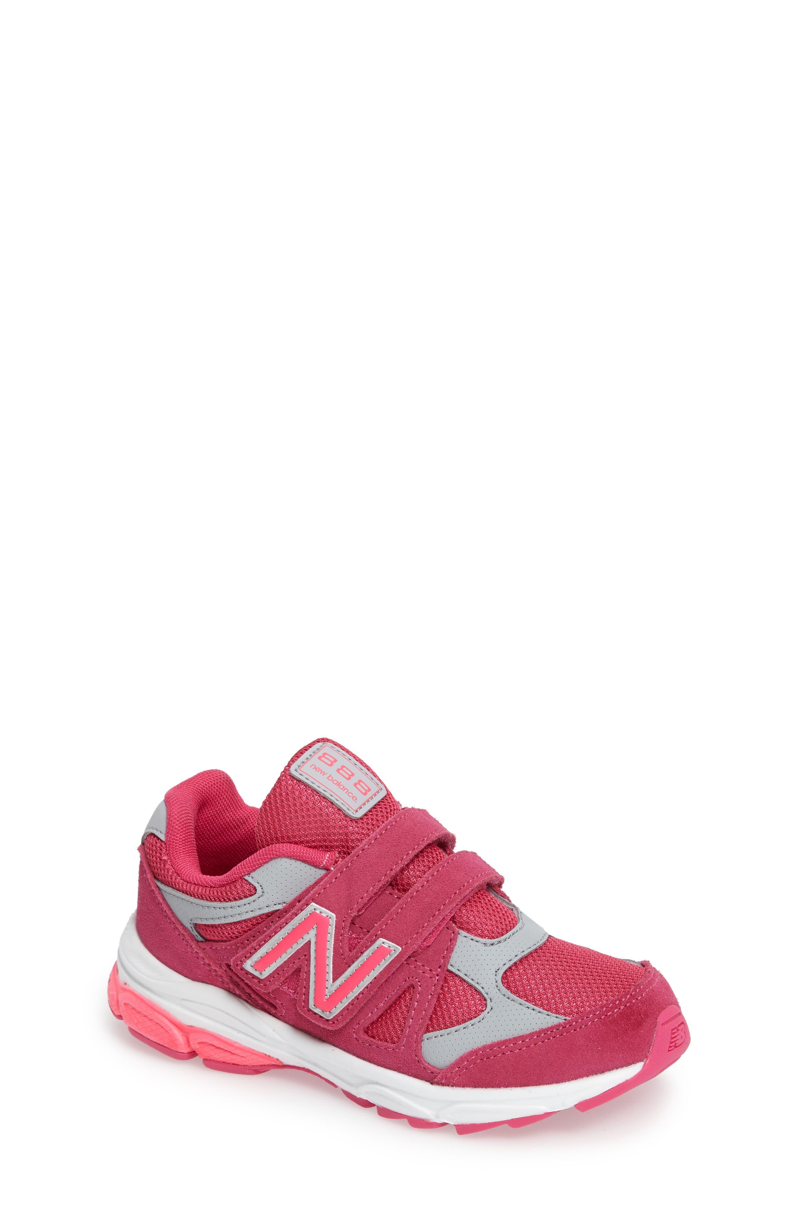 888 Sneaker,                             Main thumbnail 1, color,                             Pink/Grey