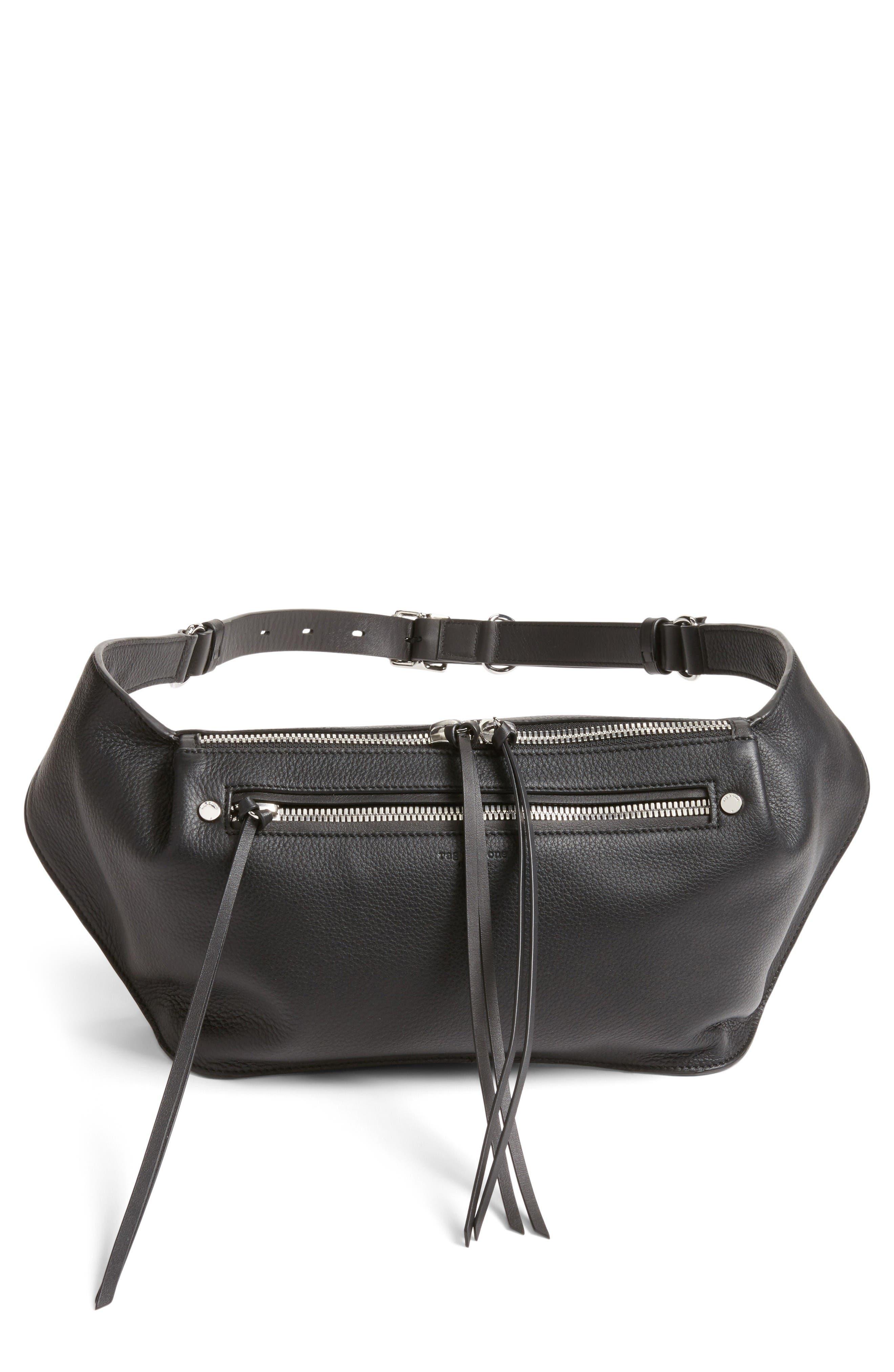 Alternate Image 1 Selected - rag & bone Leather Belt Bag