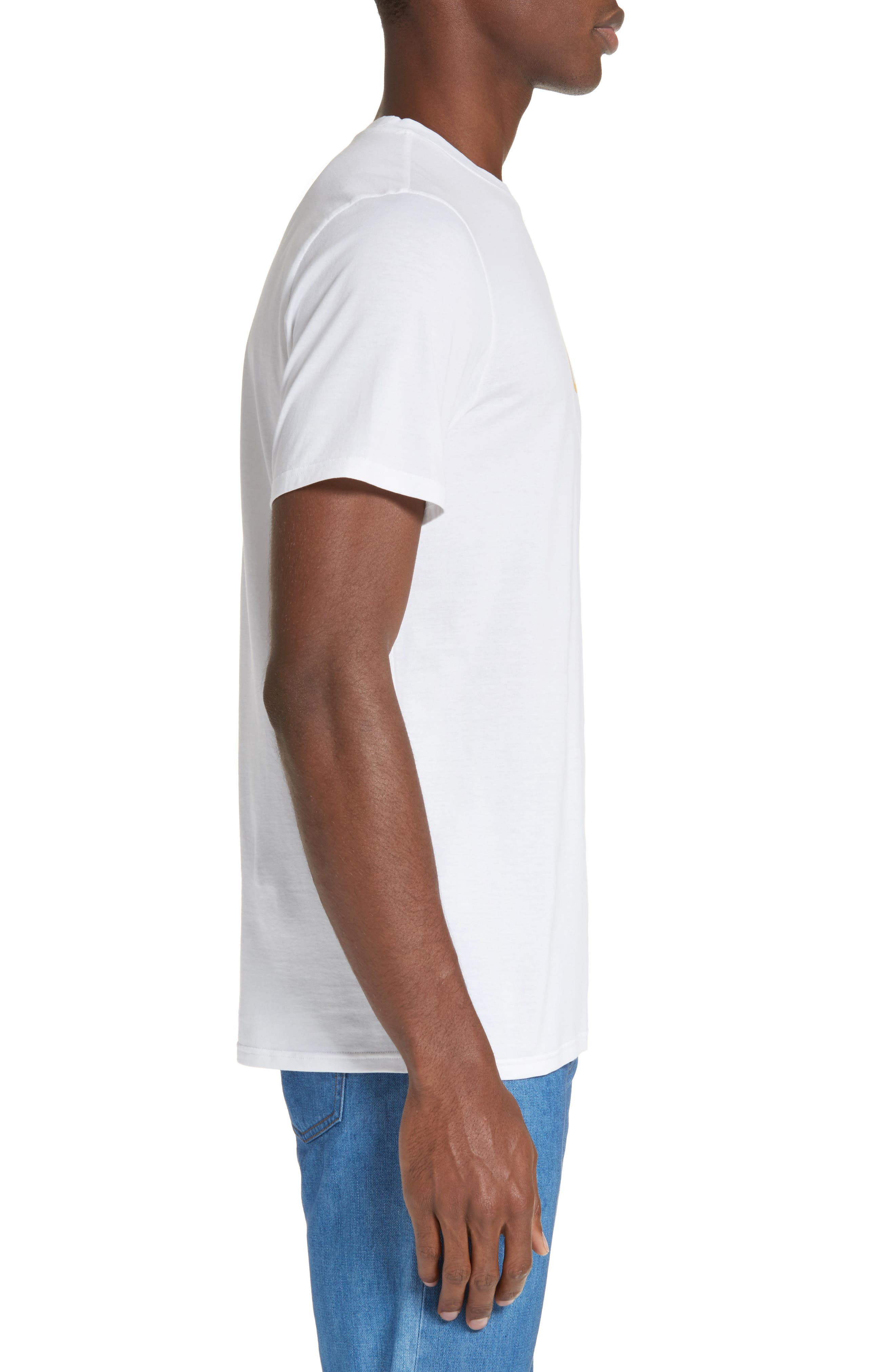 Couleurs T-Shirt,                             Alternate thumbnail 3, color,                             White