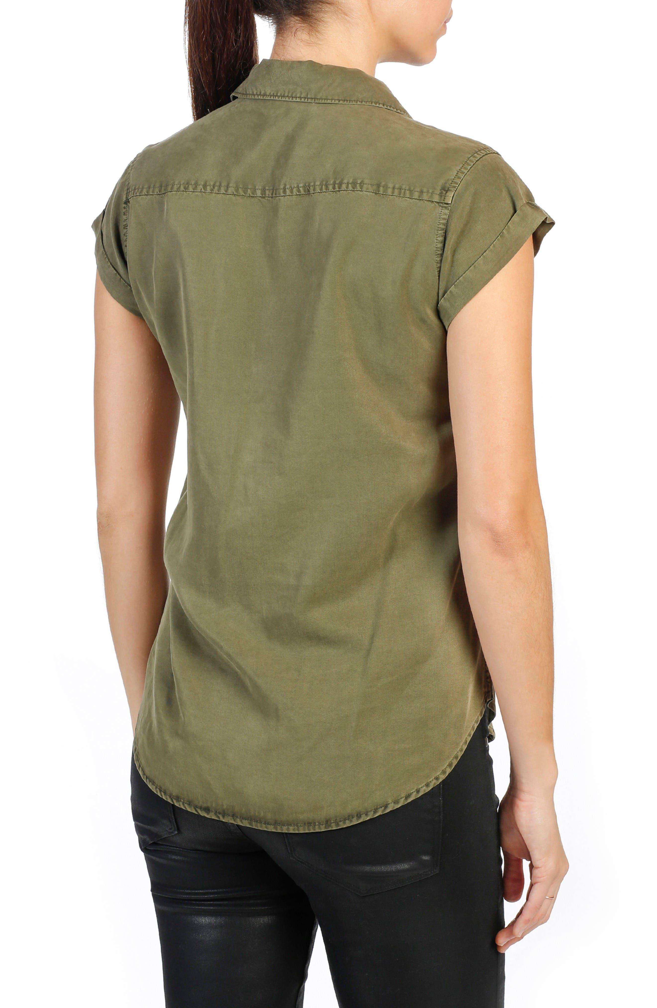 Alternate Image 2  - PAIGE Mila Chambray Shirt
