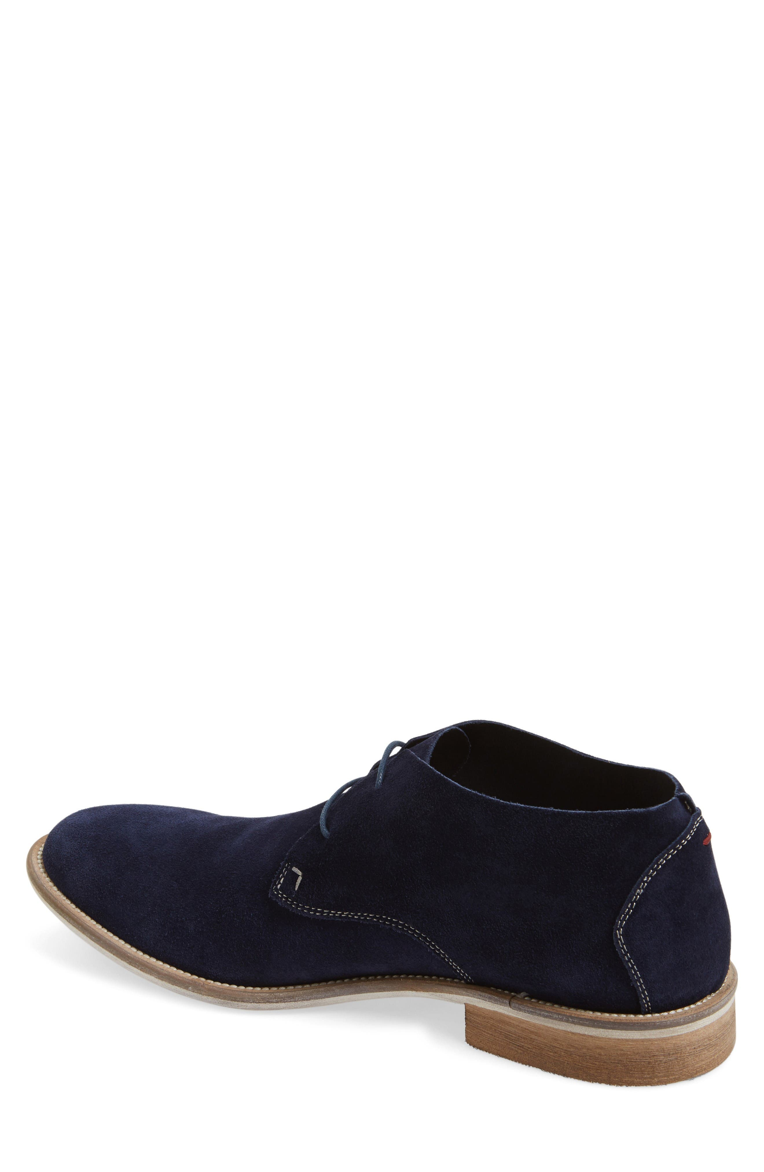 Take Comfort Chukka Boot,                             Alternate thumbnail 2, color,                             Midnight Navy Suede