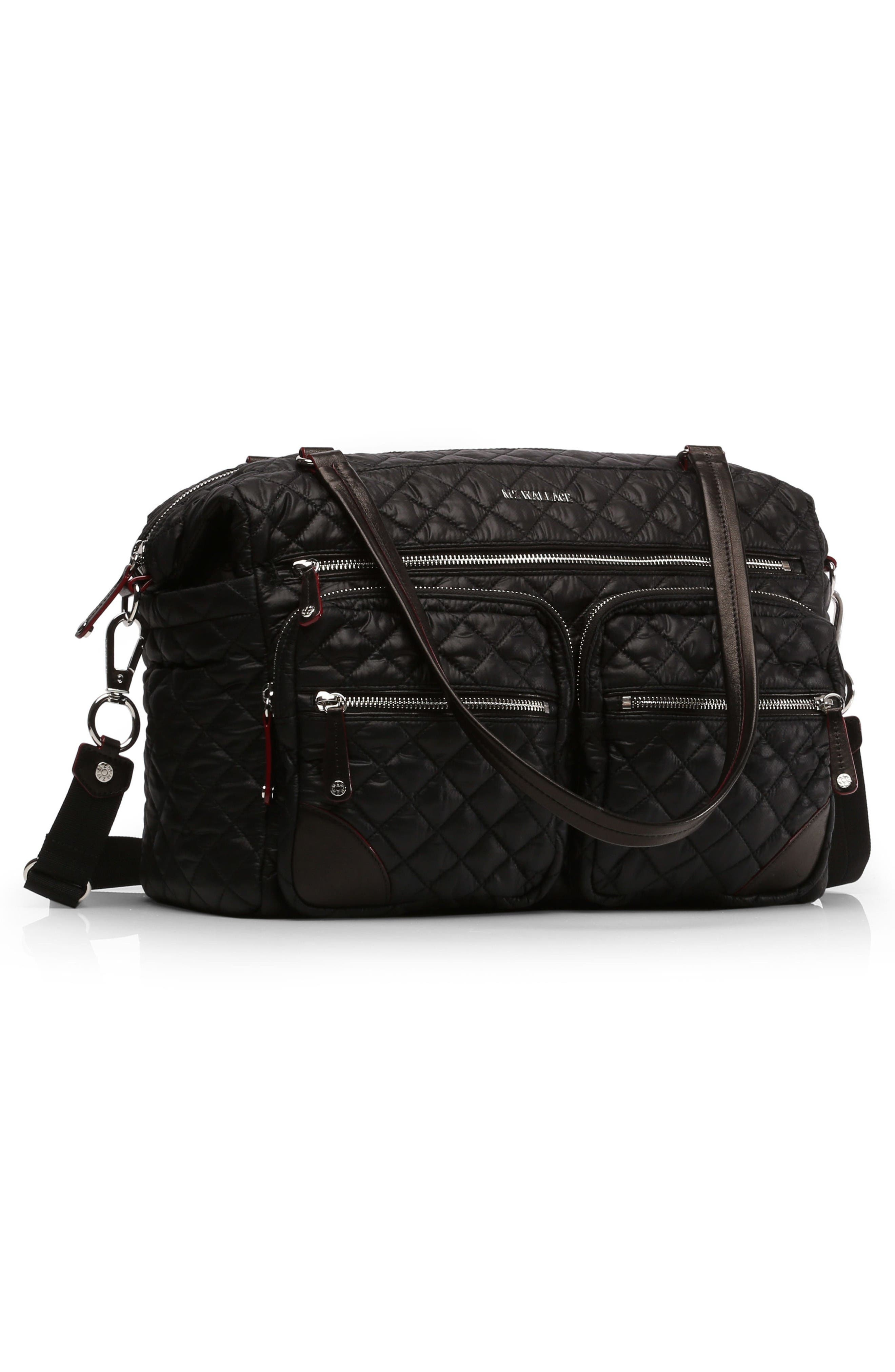 Alternate Image 4  - MZ Wallace Crosby Quilted Traveler Oxford Nylon Diaper Bag