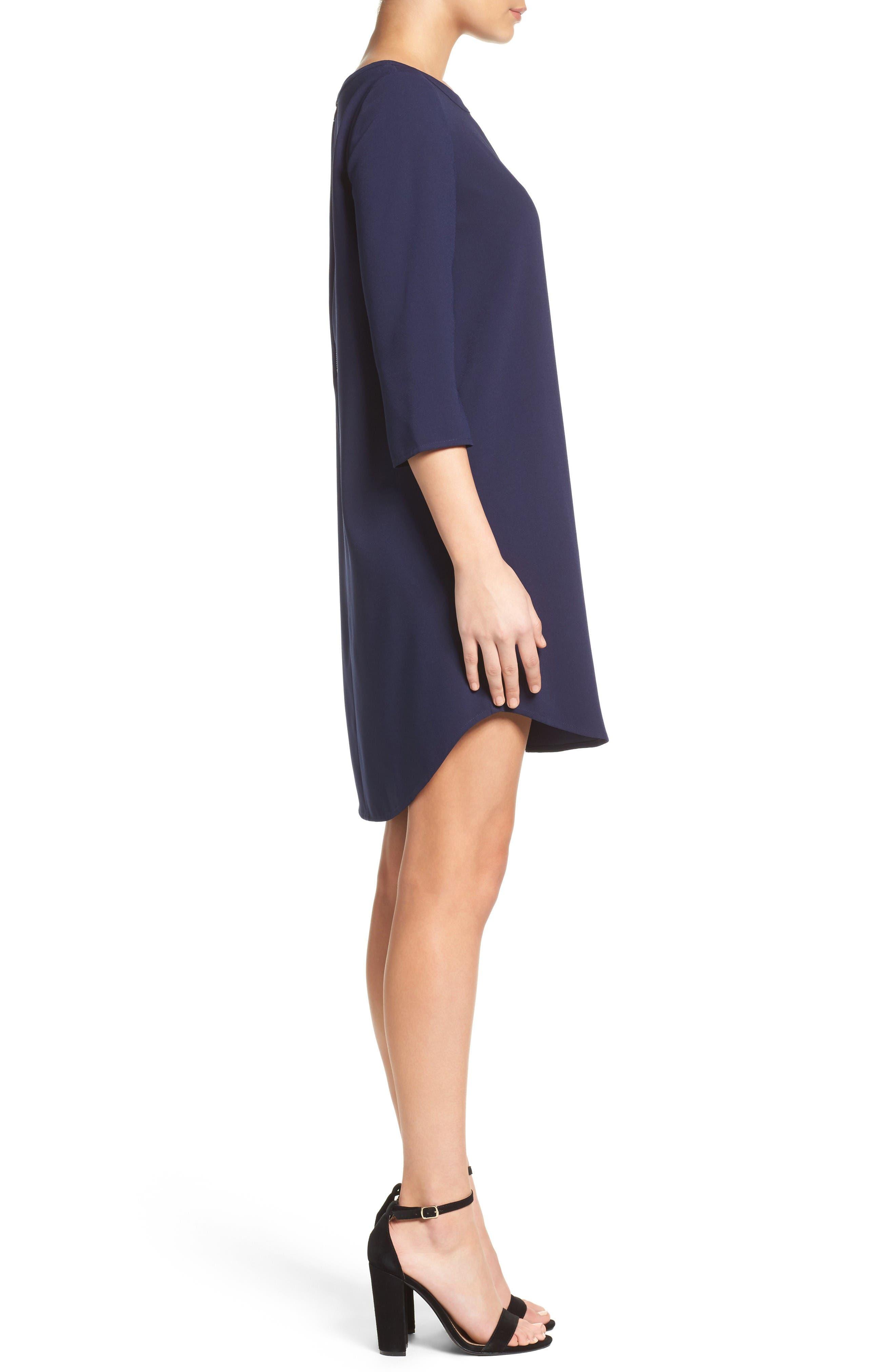 Alternate Image 3  - BB Dakota 'Jazlyn' Crepe Shift Dress