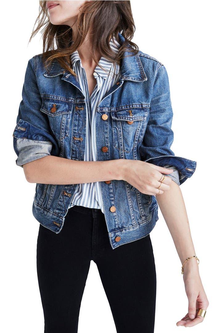 How to wear a denim jacket women