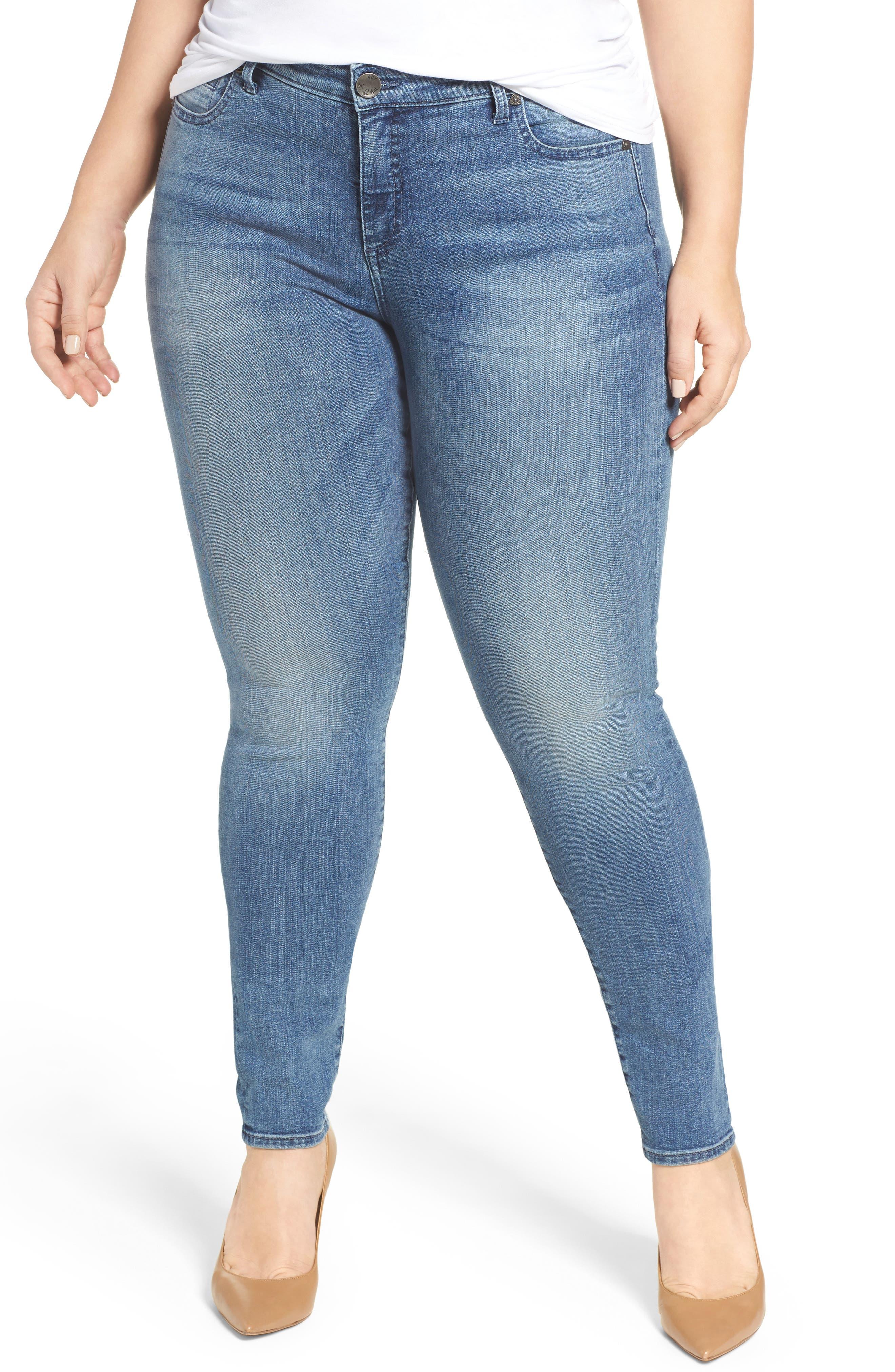 Diana Skinny Jeans,                         Main,                         color, Ingenious