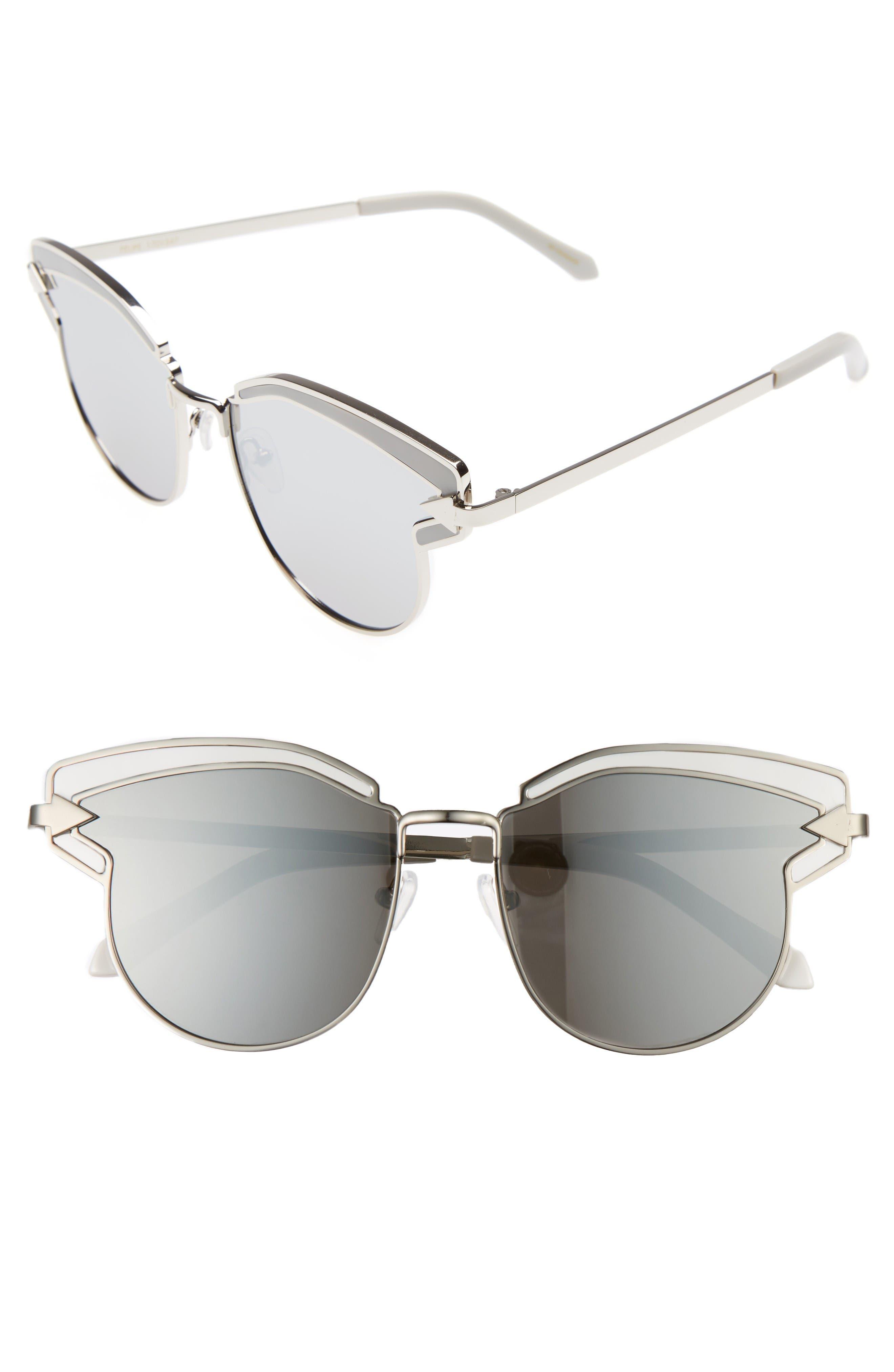 KAREN WALKER Felipe 50mm Retro Sunglasses