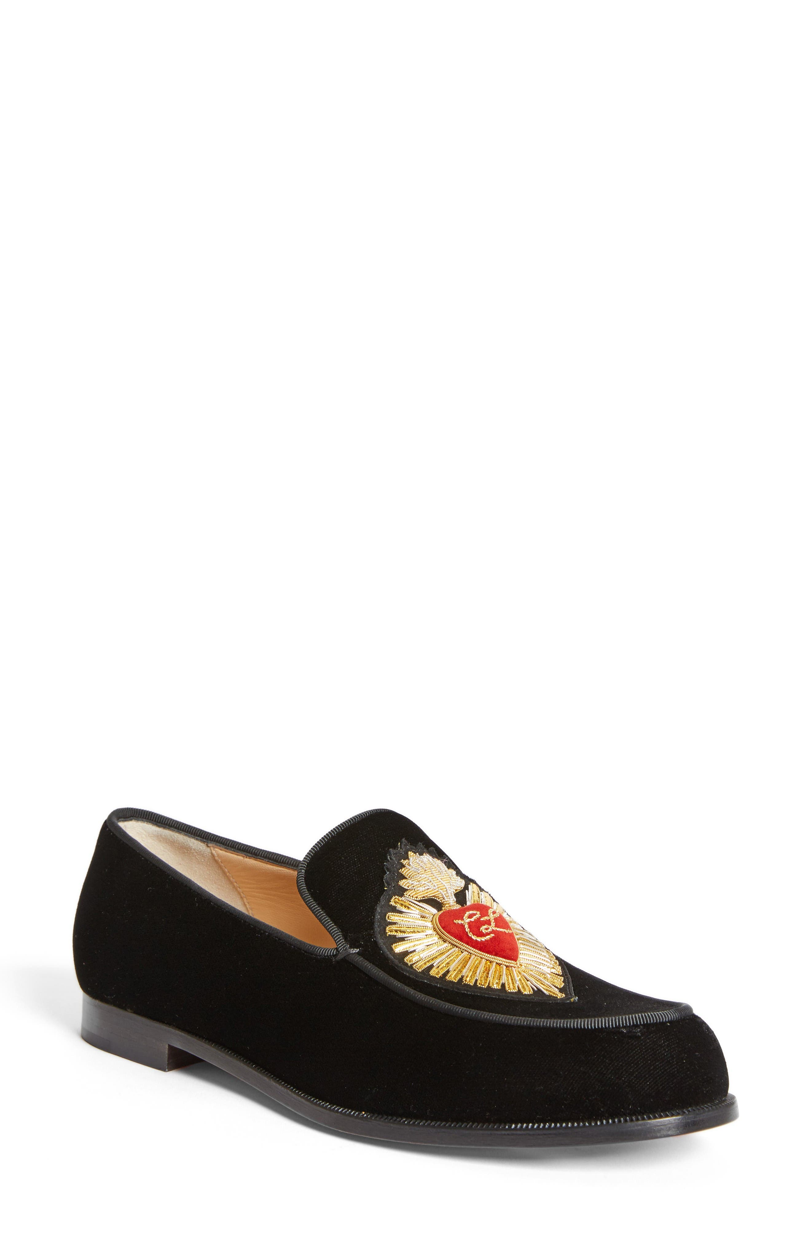 Alternate Image 1 Selected - Christian Louboutin Perou Corazon Loafer