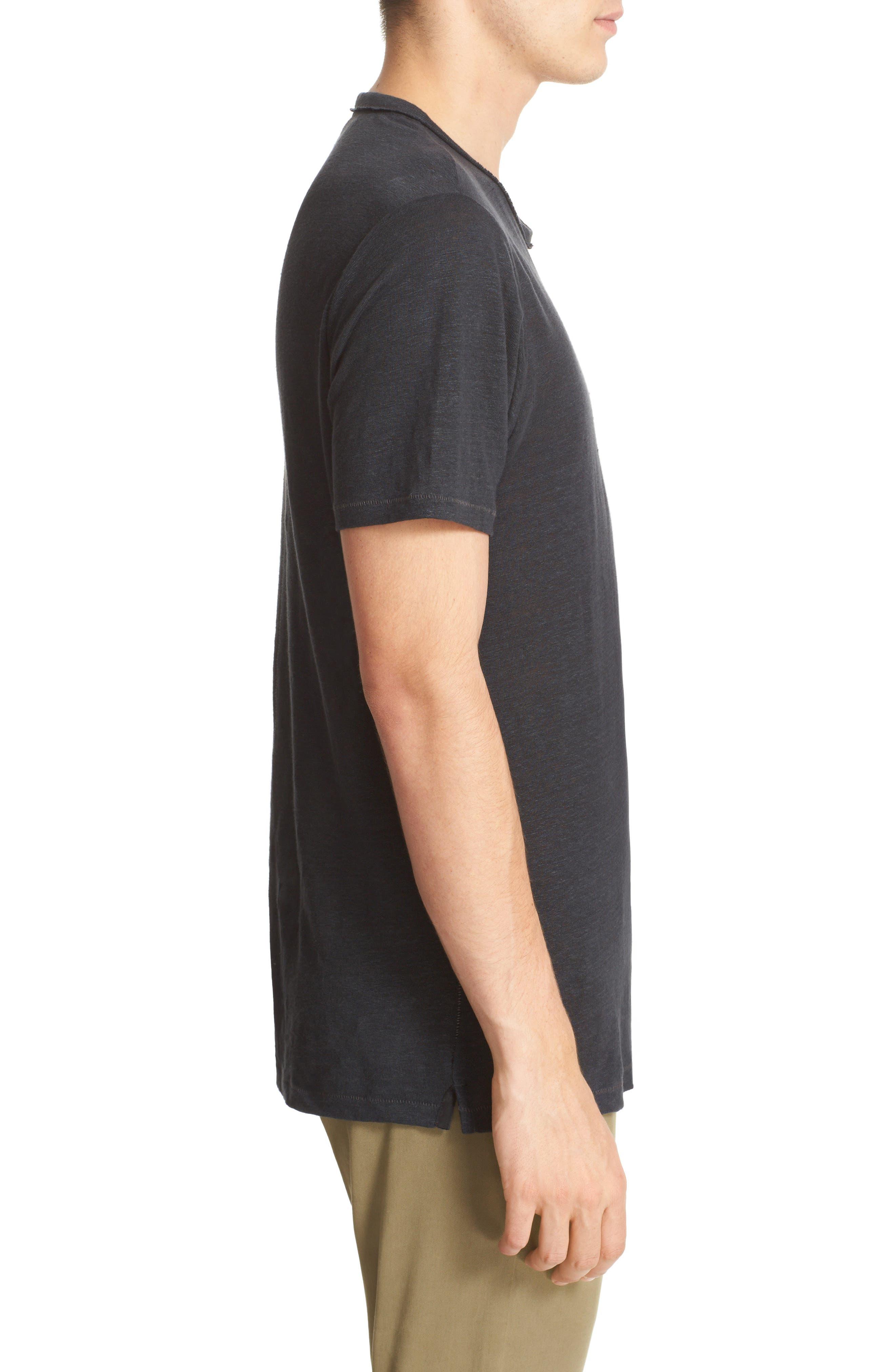 Alternate Image 3  - rag & bone Owen Slub Linen T-Shirt