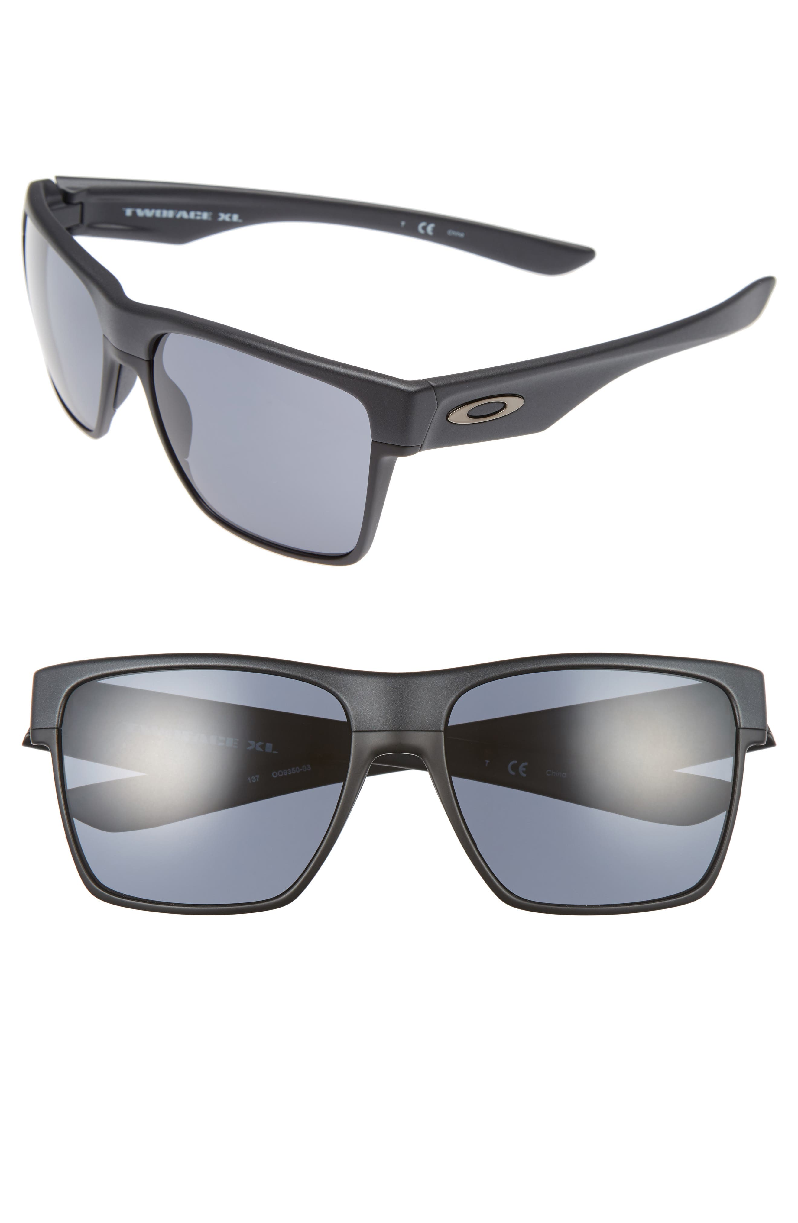 Twoface<sup>™</sup> XL 59mm Sunglasses,                         Main,                         color, Grey