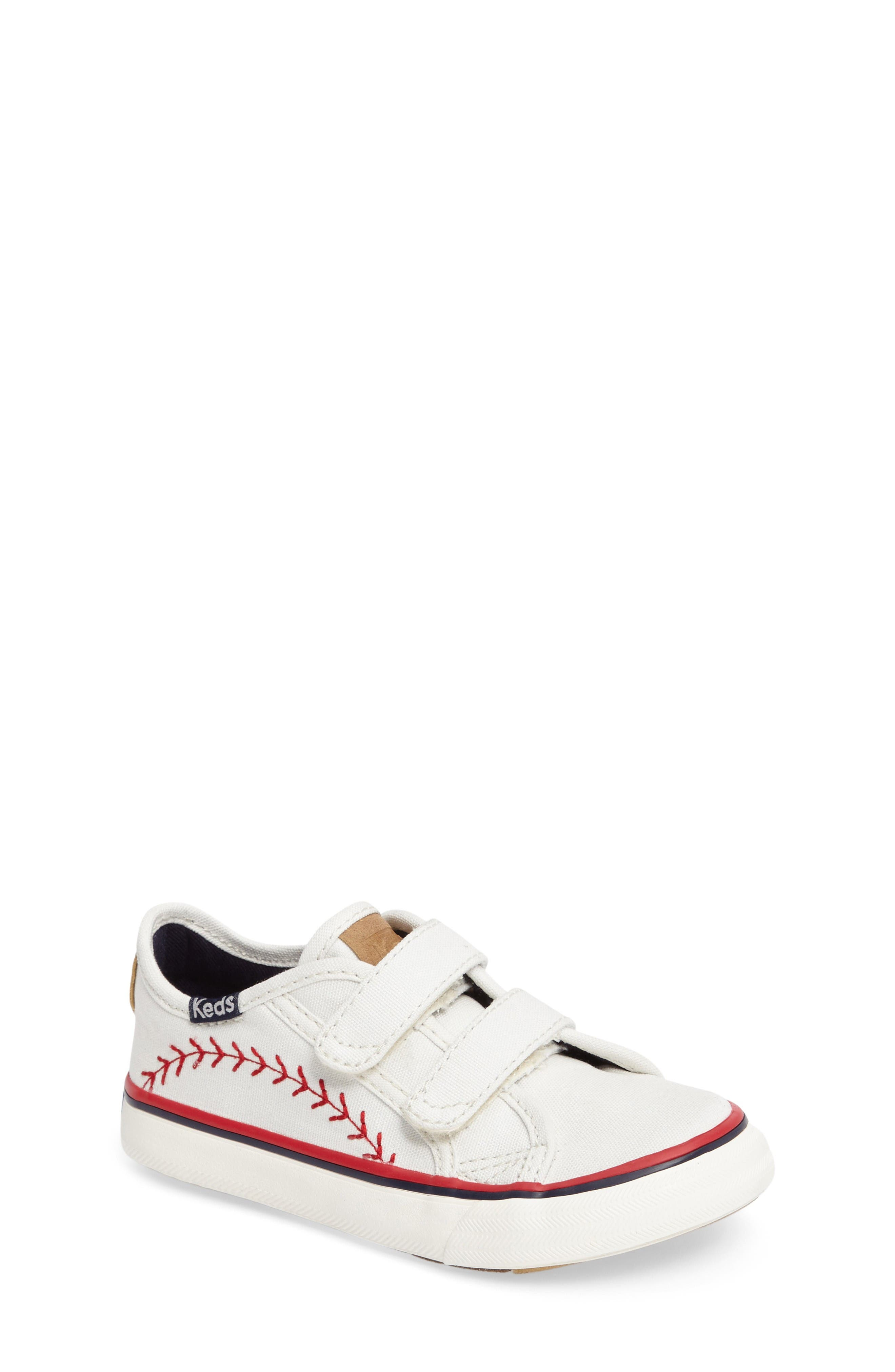 Keds® Pennant Double Up Sneaker (Baby, Walker & Toddler)