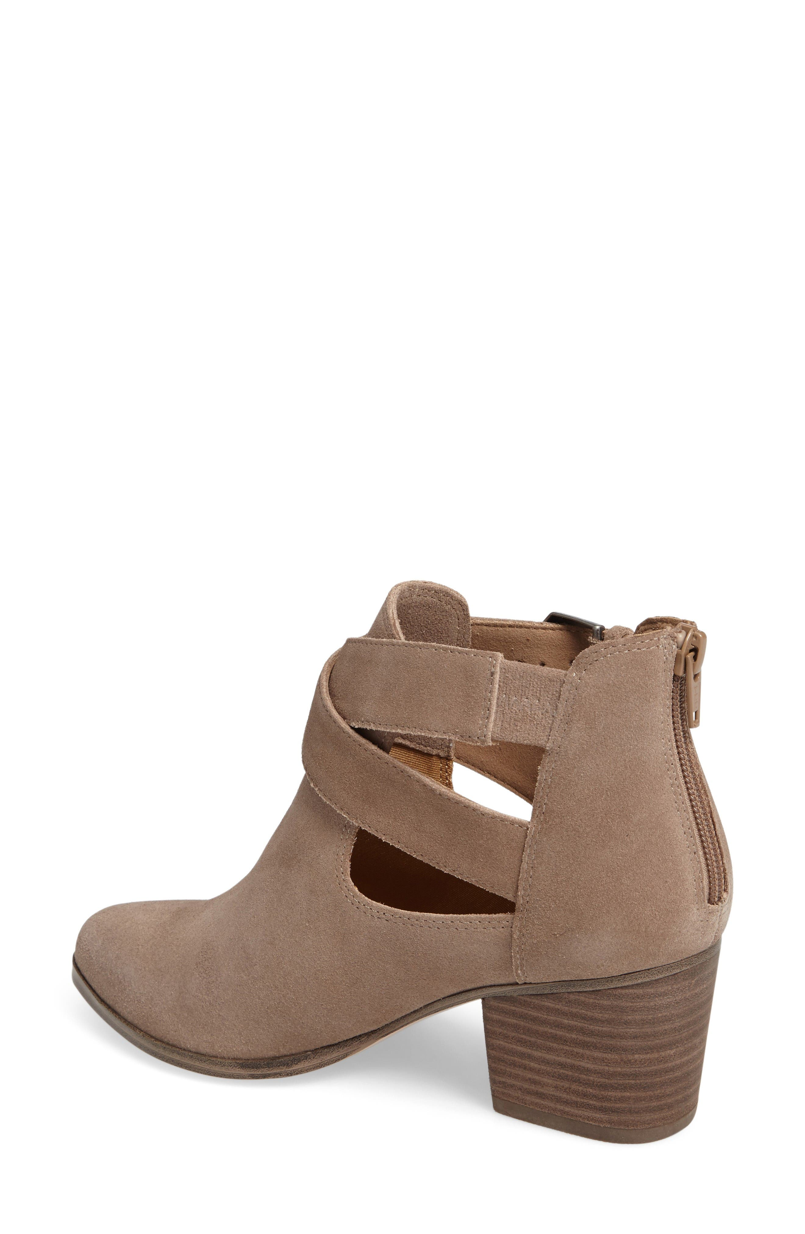 Azure Bootie,                             Alternate thumbnail 2, color,                             Taupe