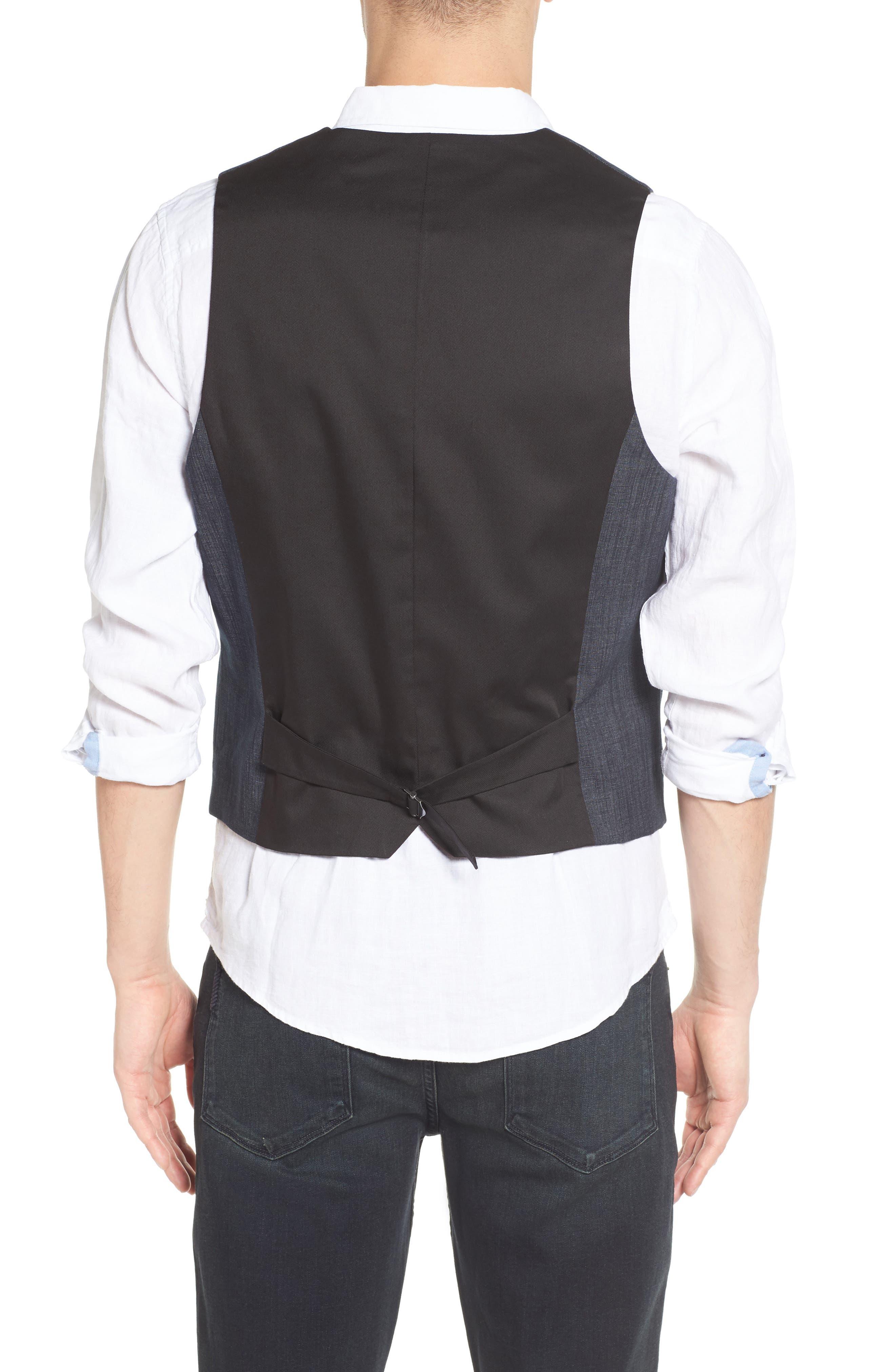 Alternate Image 2  - BOSS Orange Bacer Denim Vest