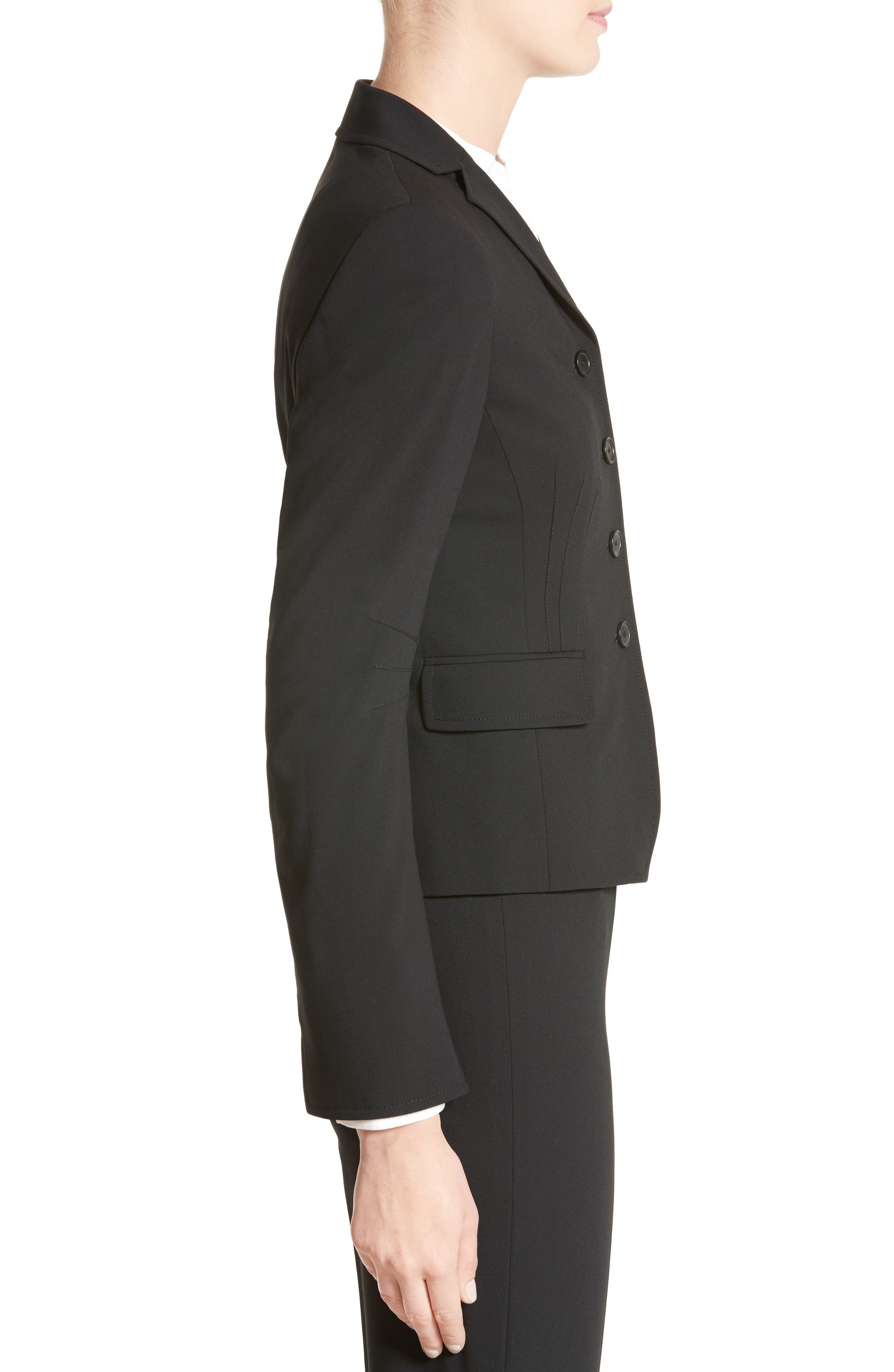 Alternate Image 5  - Akris punto Fitted Wool Jacket
