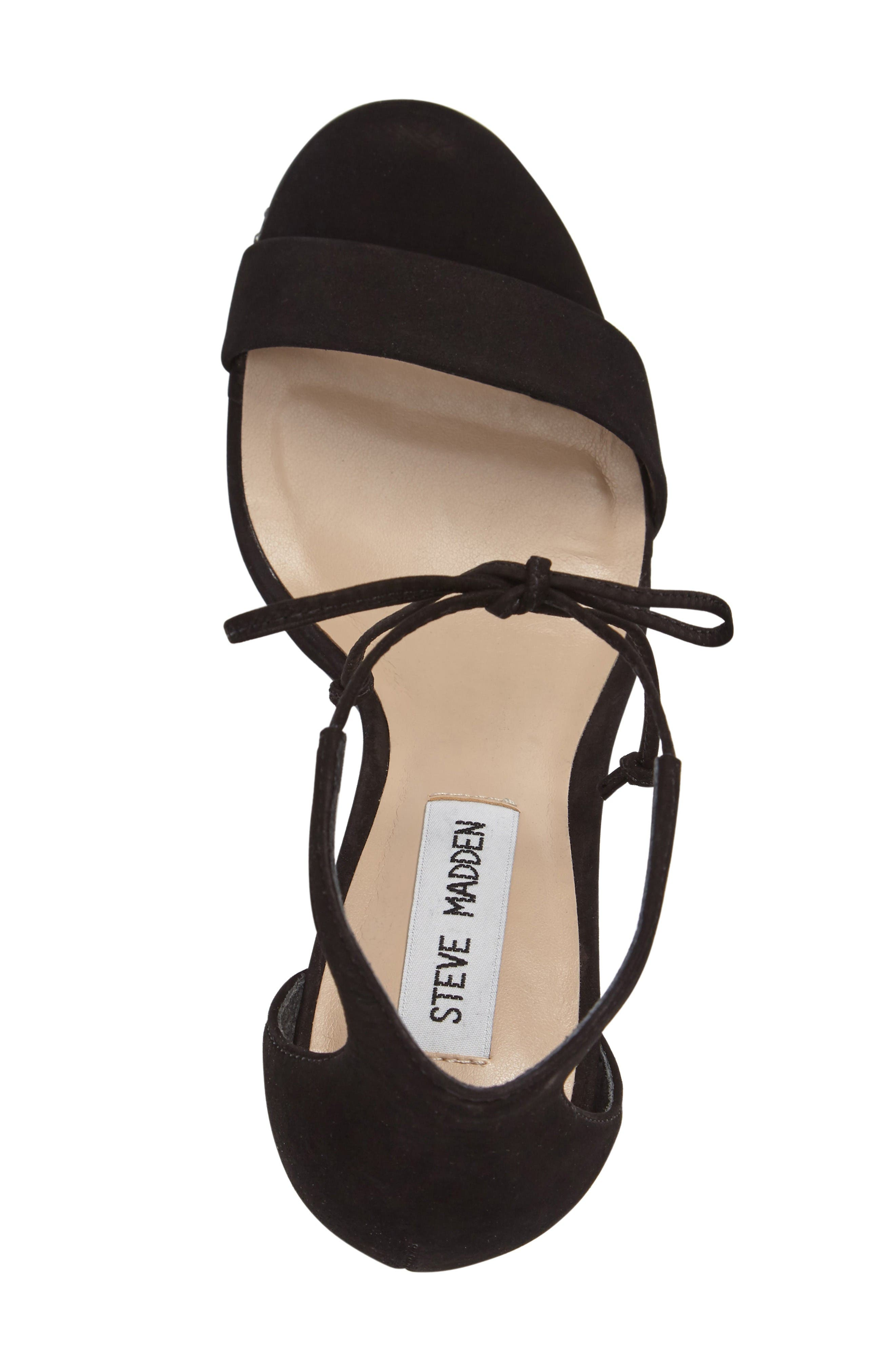 Alternate Image 3  - Steve Madden Shays Lace-Up Sandal (Women)