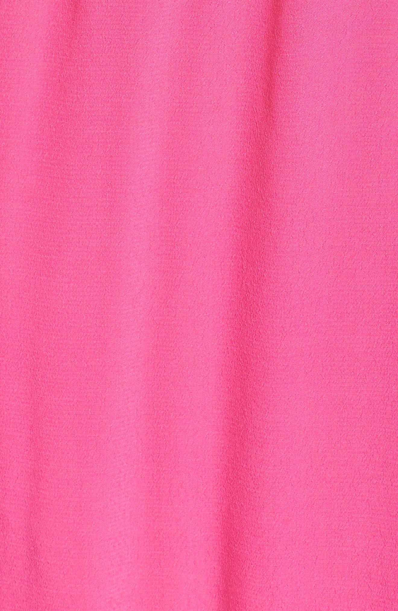 Cold Shoulder Maxi Dress,                             Alternate thumbnail 5, color,                             Pink