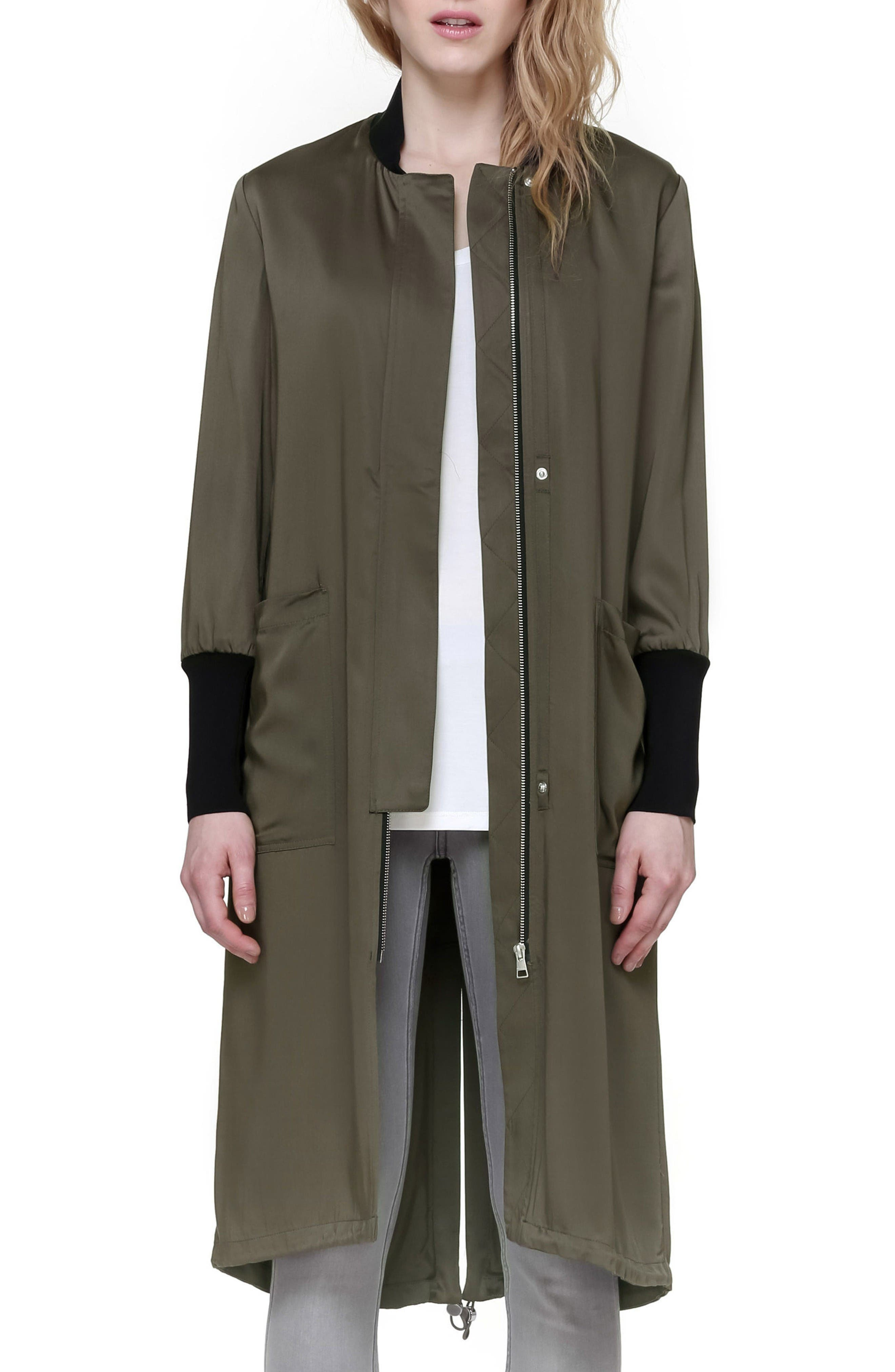 Bia Drawcord Hem Coat
