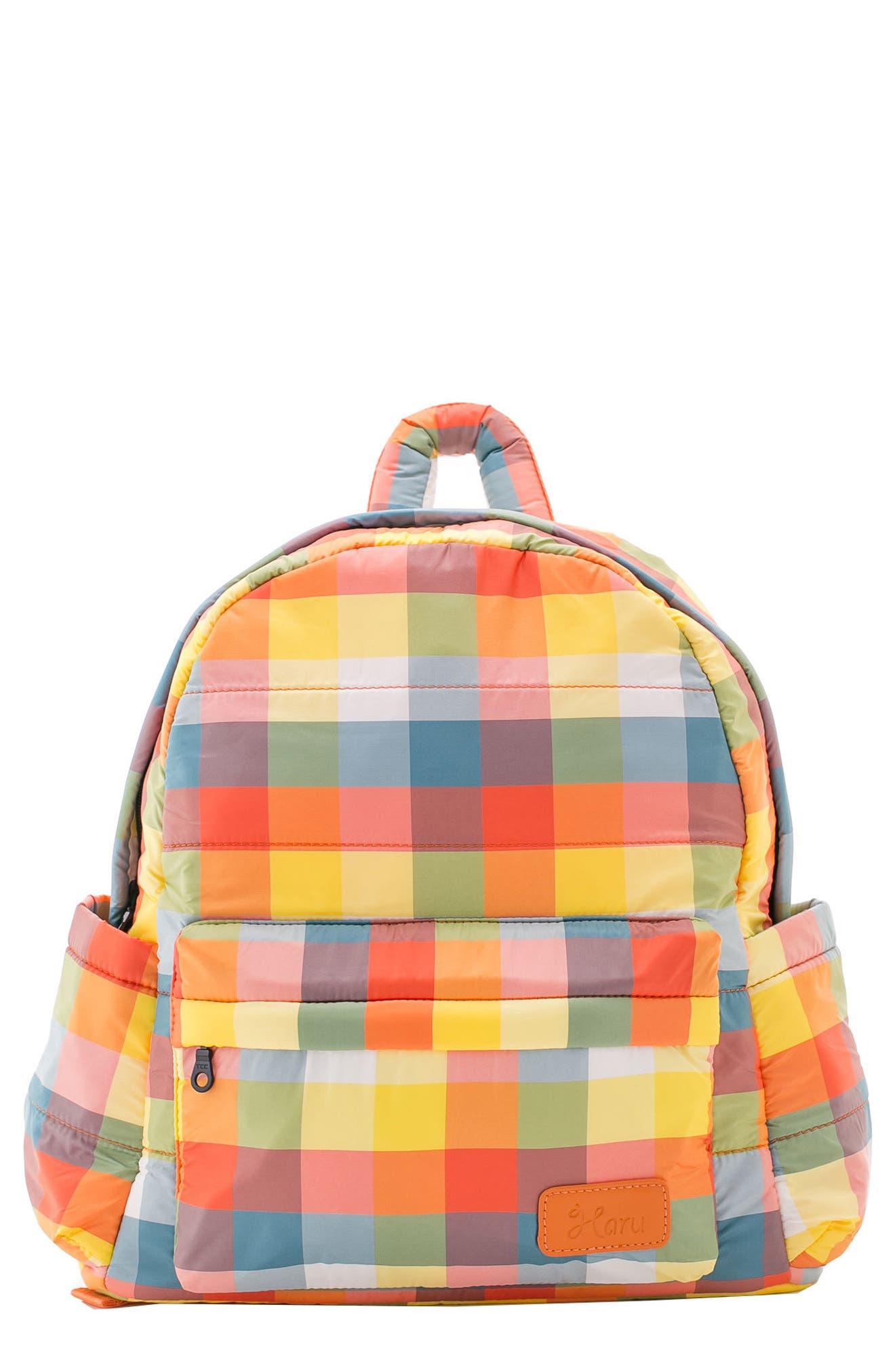Alternate Image 1 Selected - HARU Print Water Repellent Diaper Backpack