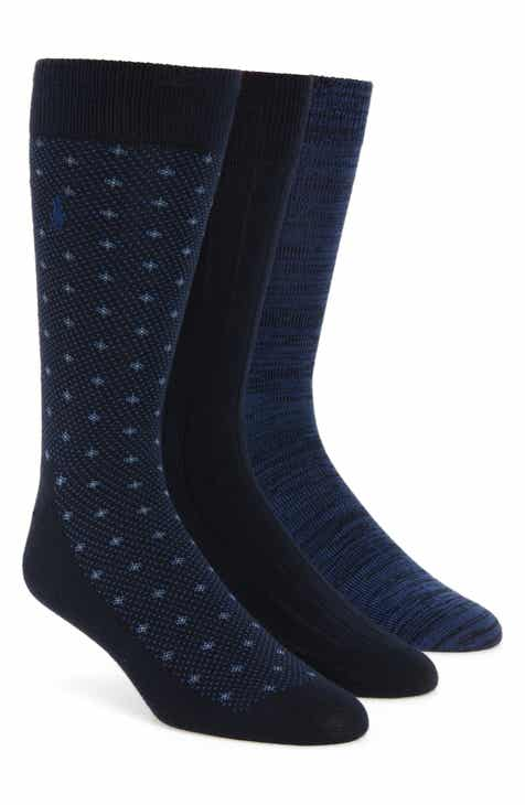 9bf9dace6 Polo Ralph Lauren Supersoft Diamond Dot Assorted 3-Pack Socks