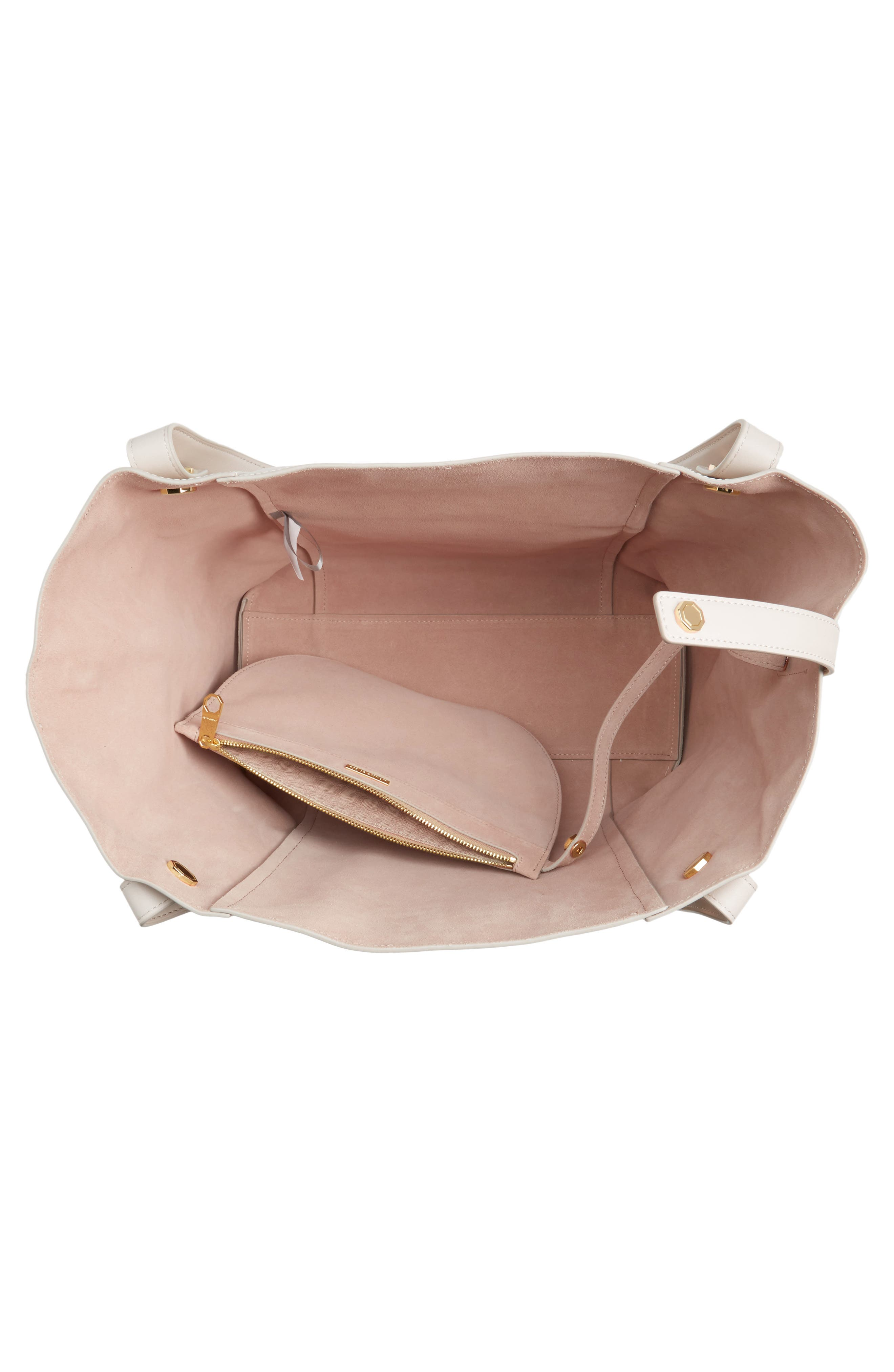 Alternate Image 4  - Louise et Cie Maree Leather Tote