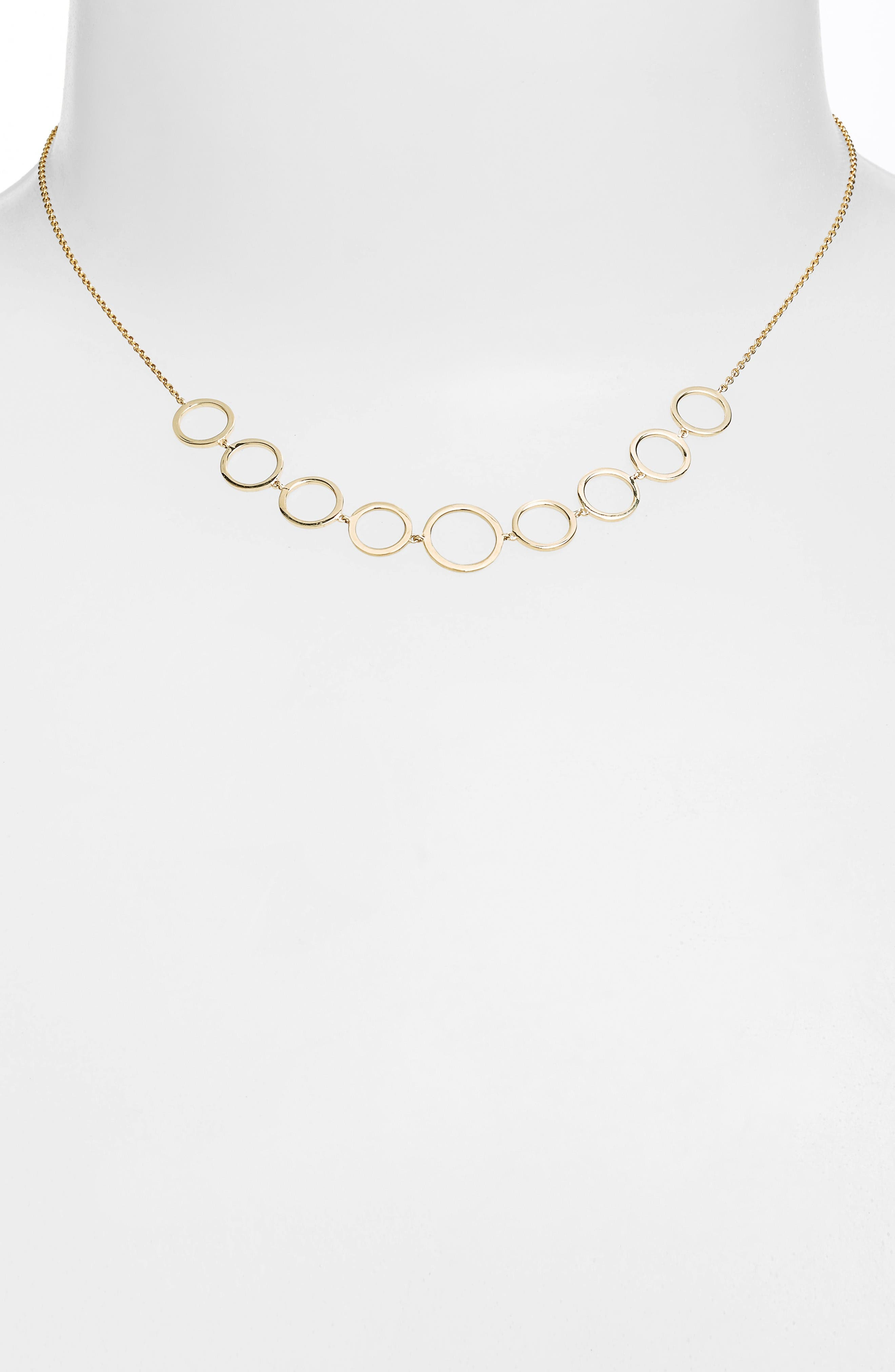Alternate Image 2  - Bony Levy Geo Circle Necklace (Nordstrom Exclusive)