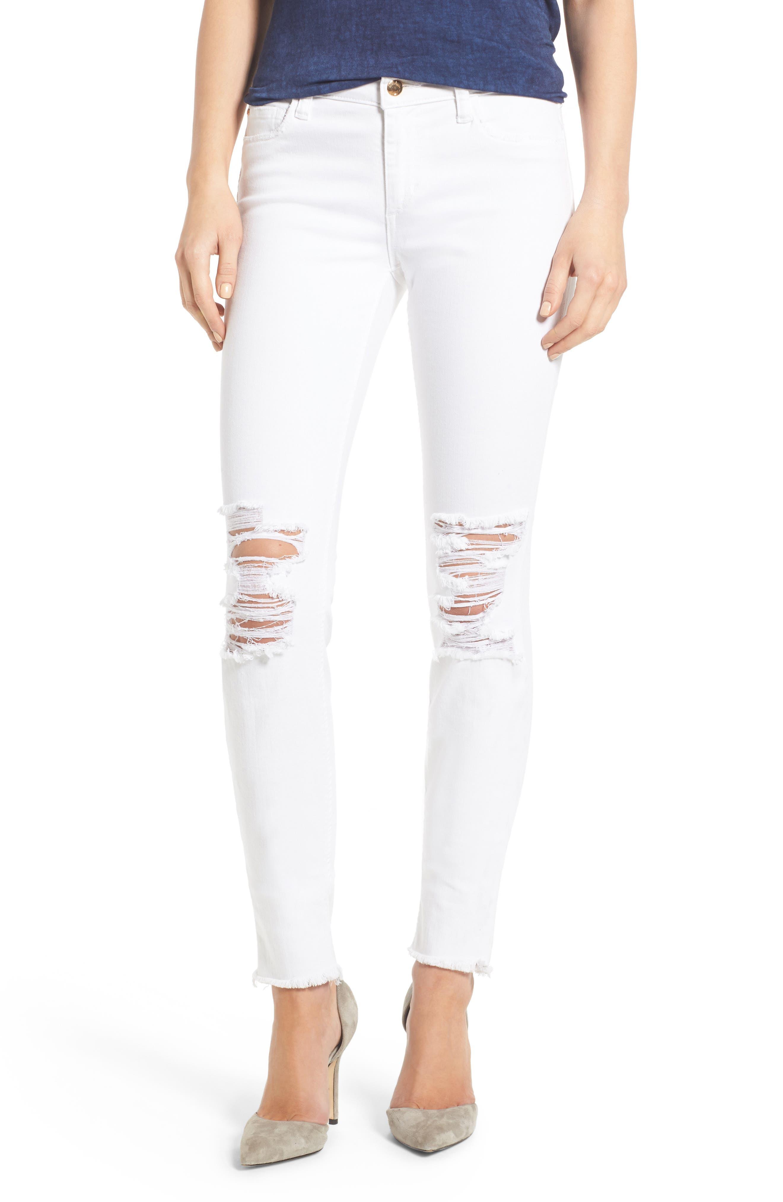 Alternate Image 1 Selected - Joe's Icon Skinny Jeans (Scottie)