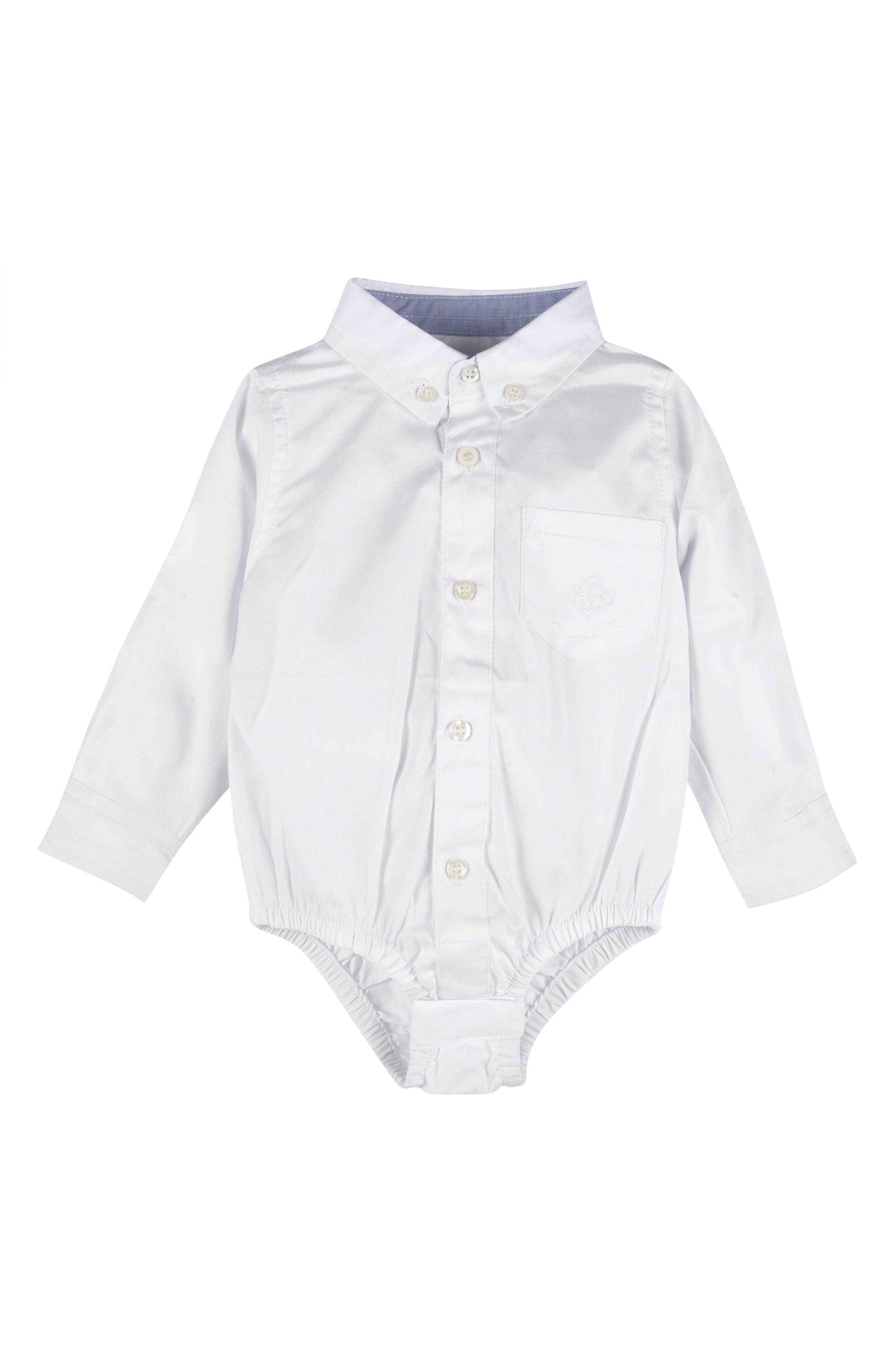 Andy & Evan Oxford Bodysuit (Baby Boys)