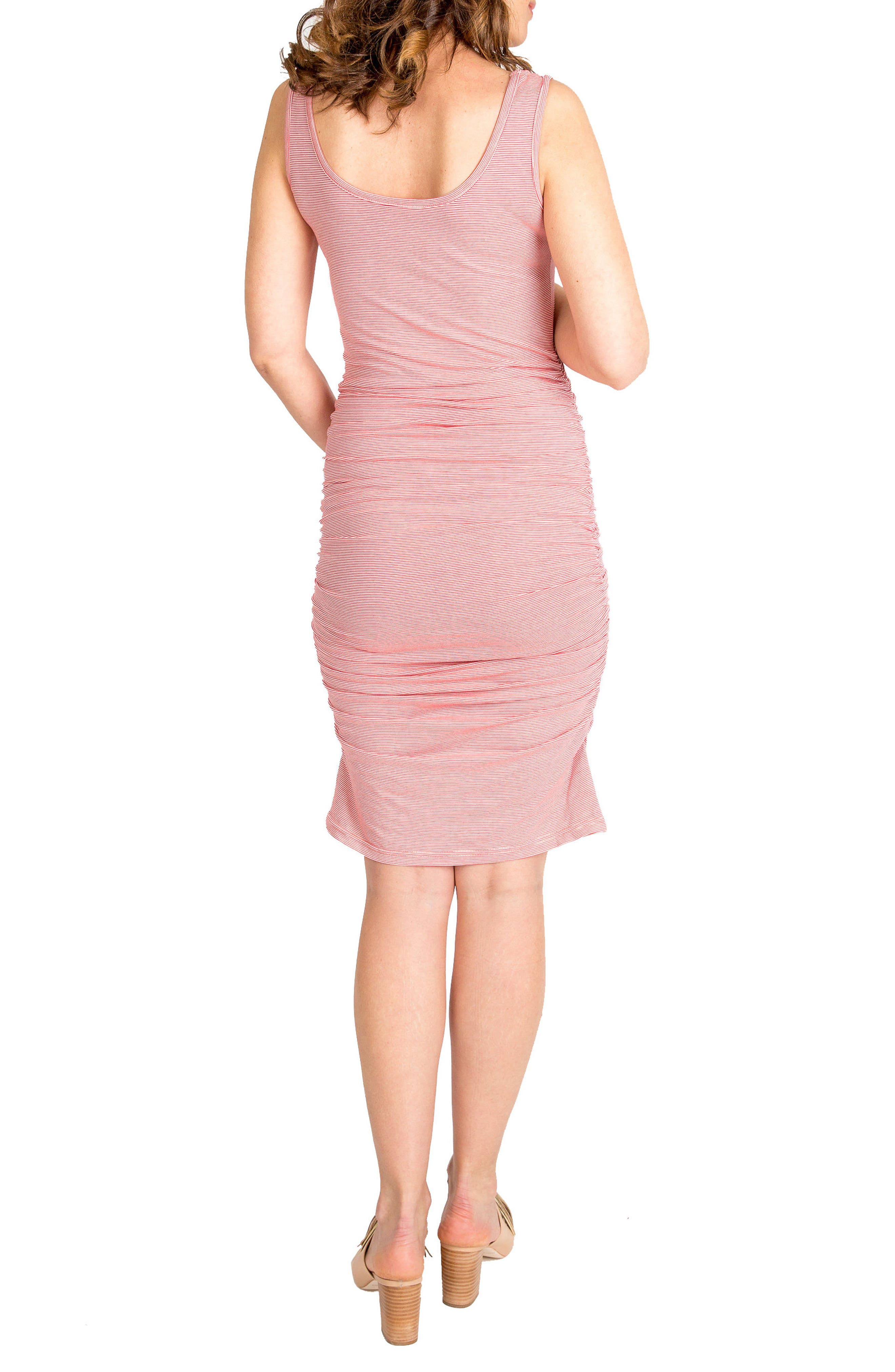 Alternate Image 2  - Nom Maternity 'Stella' Striped Jersey Maternity Dress