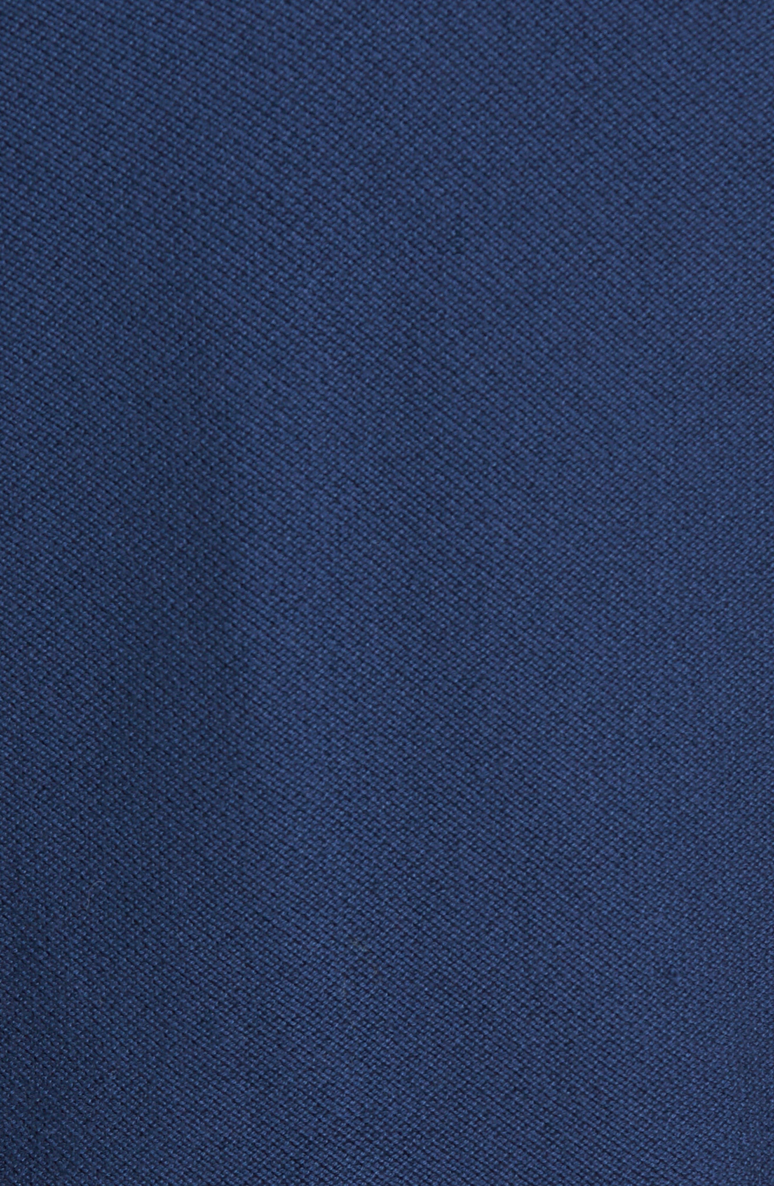 Piqué Jersey Quarter Zip Golf Vest,                             Alternate thumbnail 5, color,                             Summer Navy