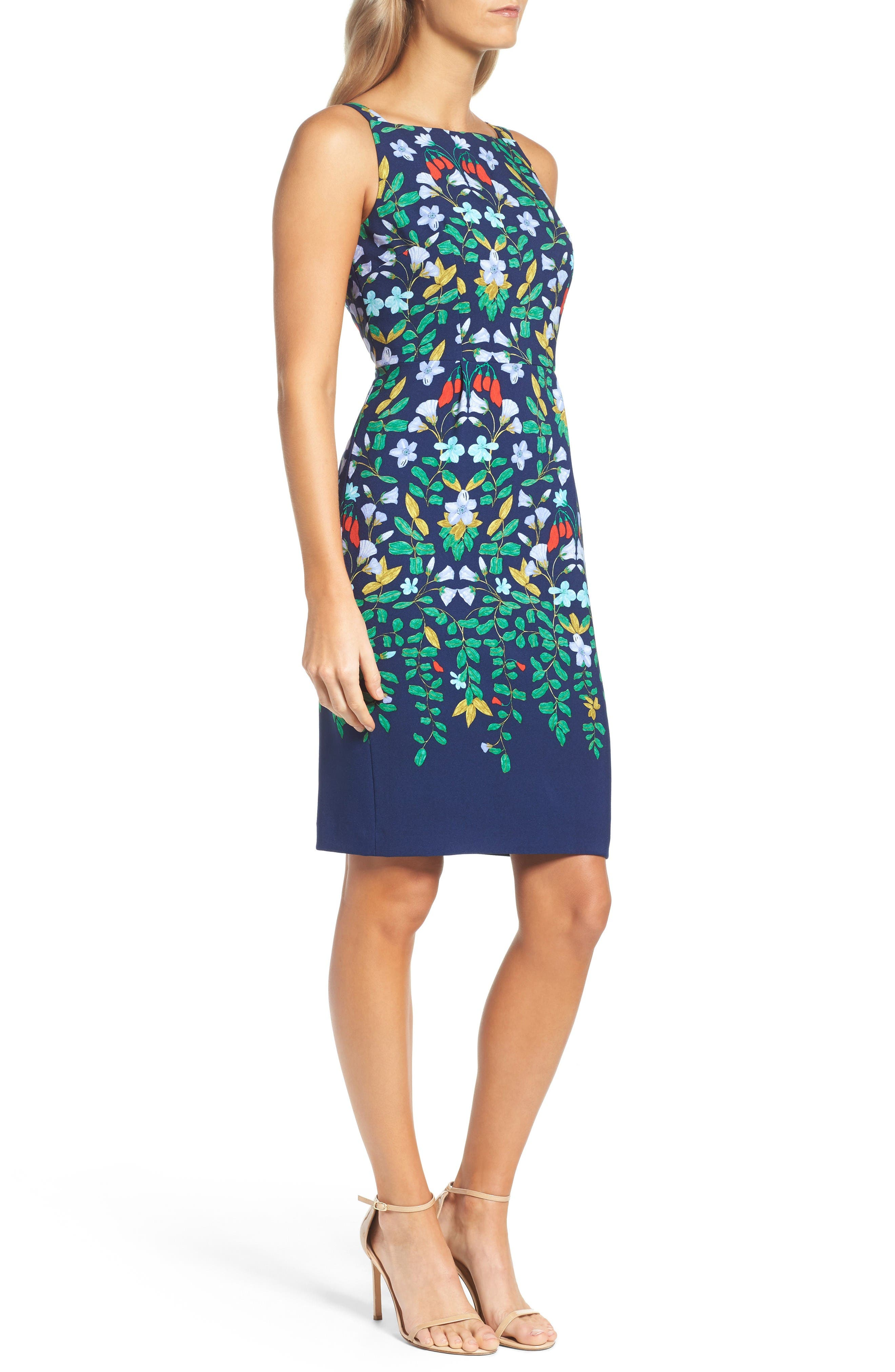 Alternate Image 3  - Adrianna Papell Print Sheath Dress