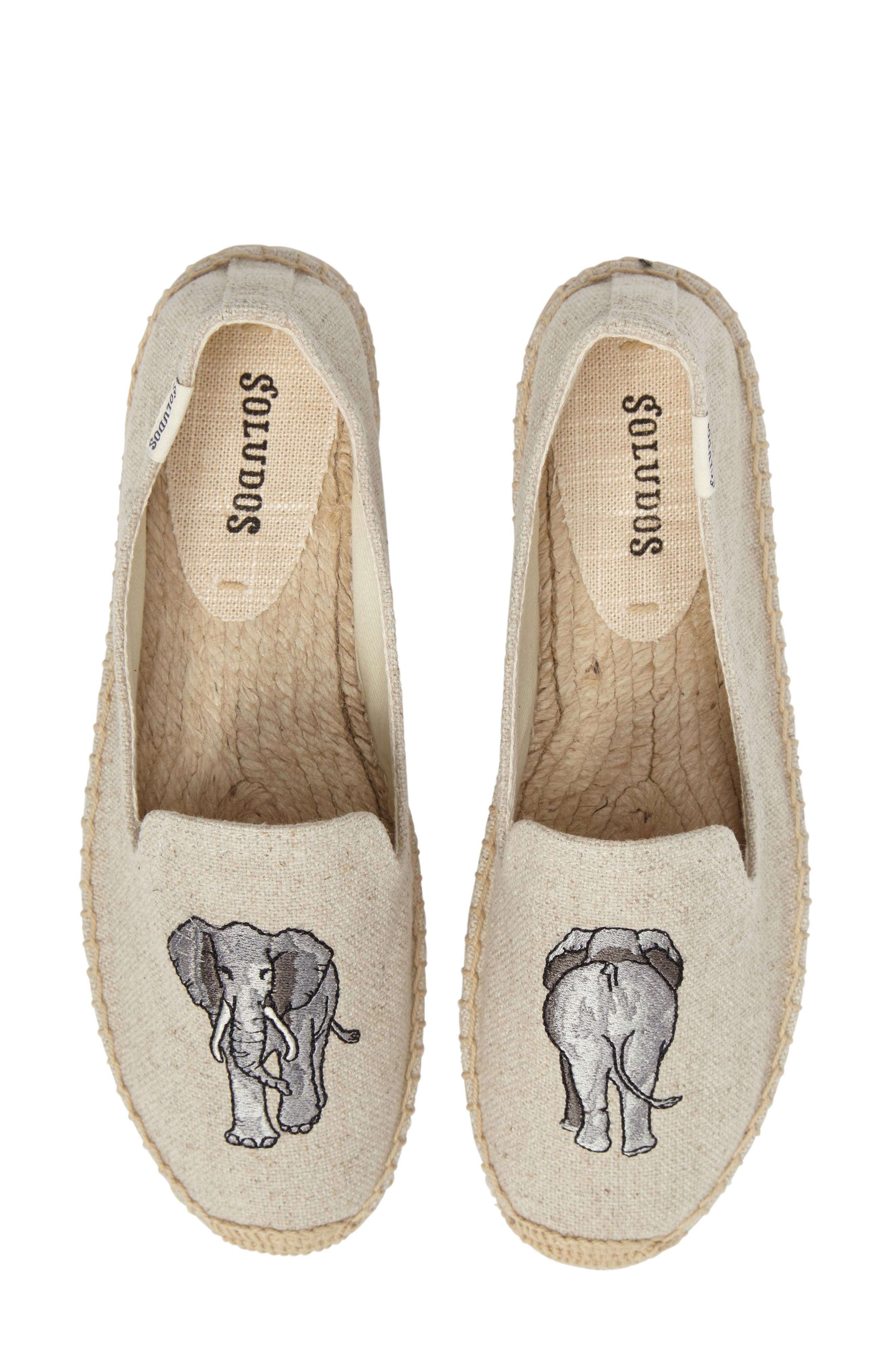 Espadrille Slip-On,                             Main thumbnail 1, color,                             Sand Canvas