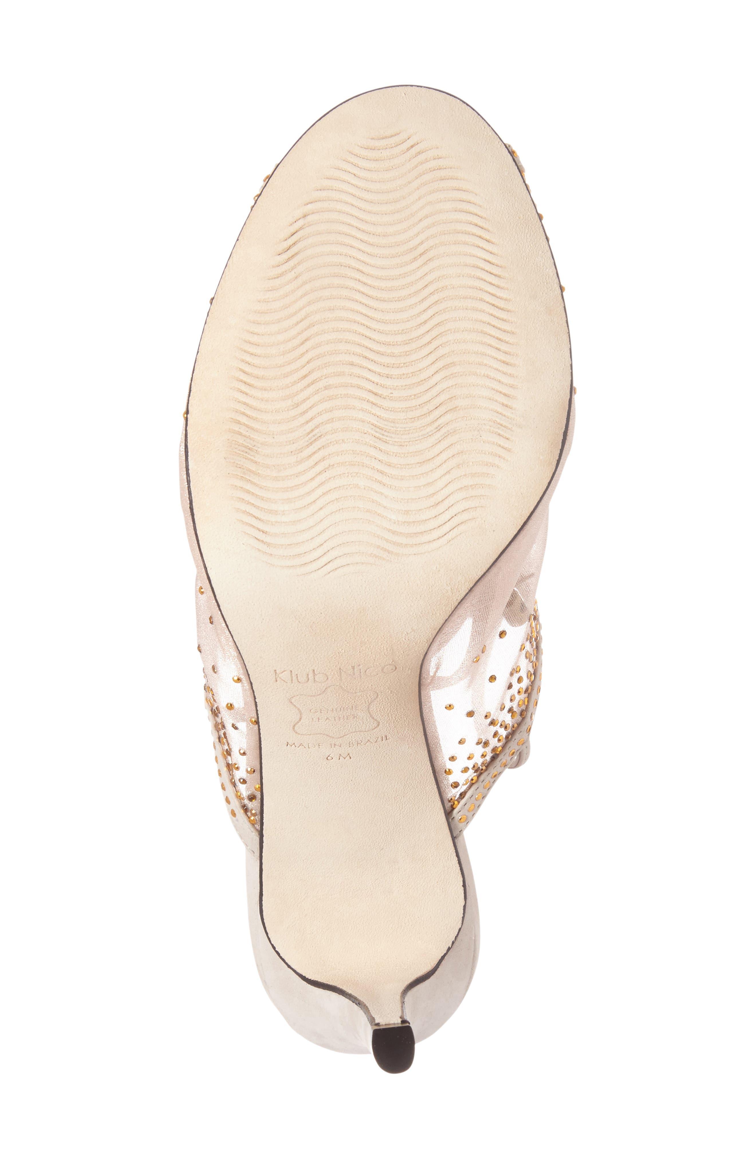 Alternate Image 3  - Klub Nico Margeaux Embellished Wraparound Sandal (Women)