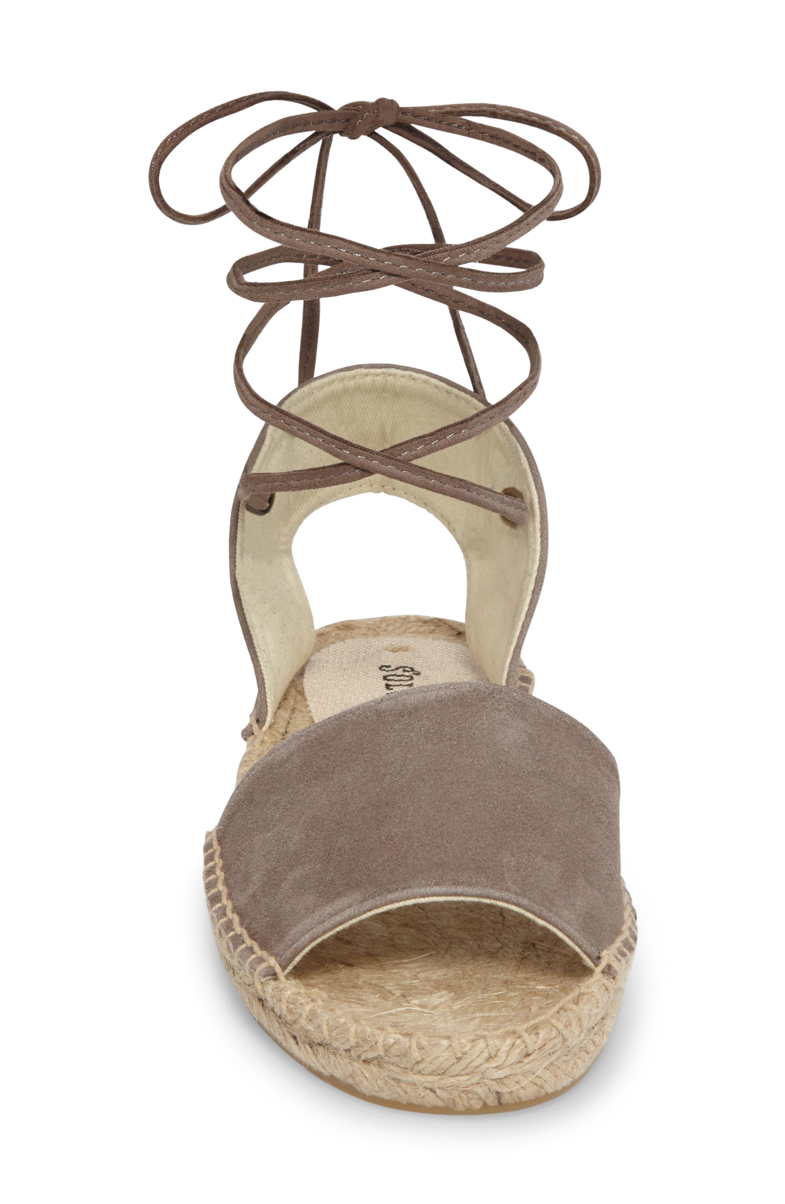 Alternate Image 3  - Soludos Lace-Up Sandal (Women)