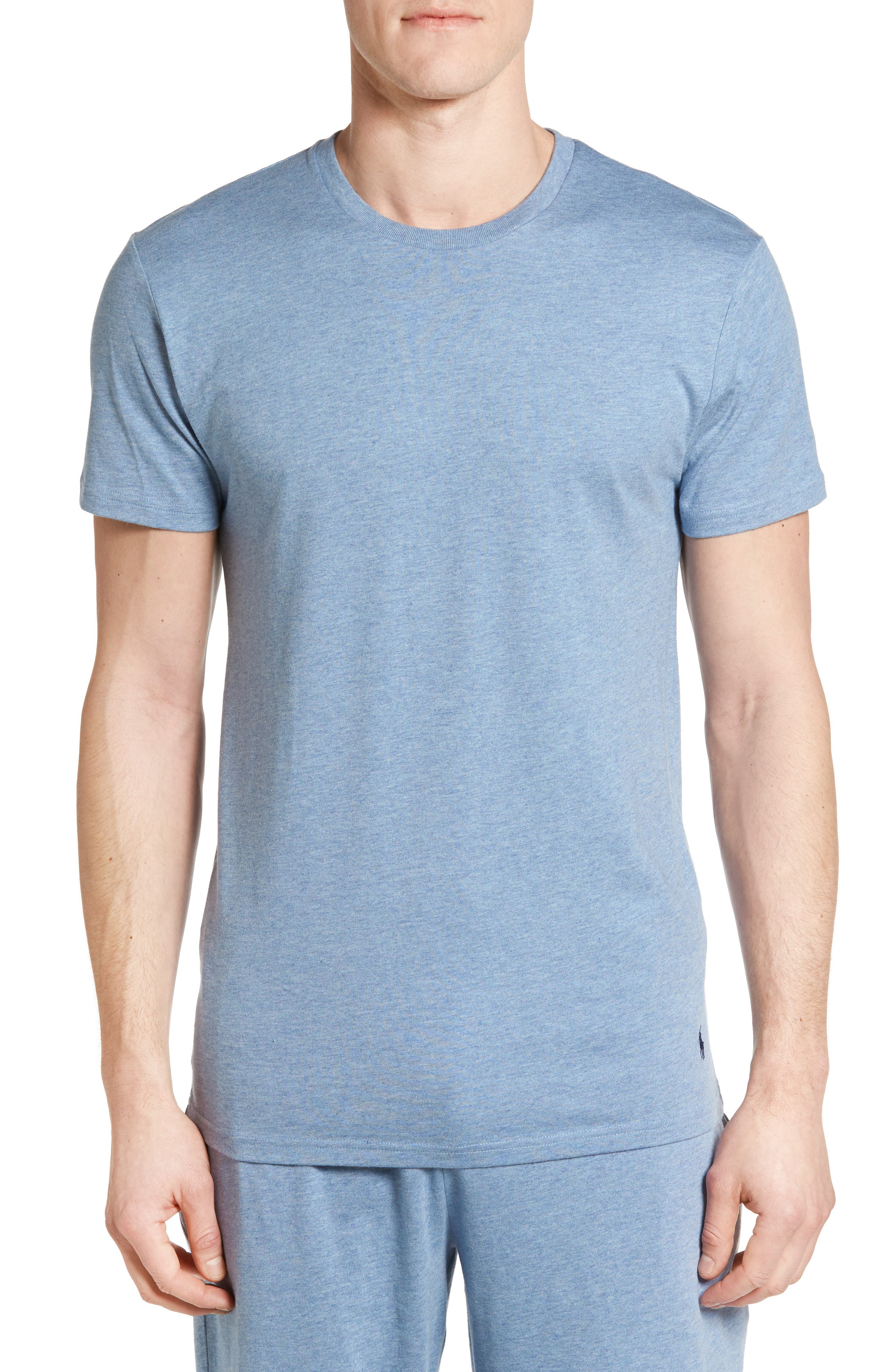 Alternate Image 1 Selected - Polo Ralph Lauren Crewneck Cotton & Modal T-Shirt