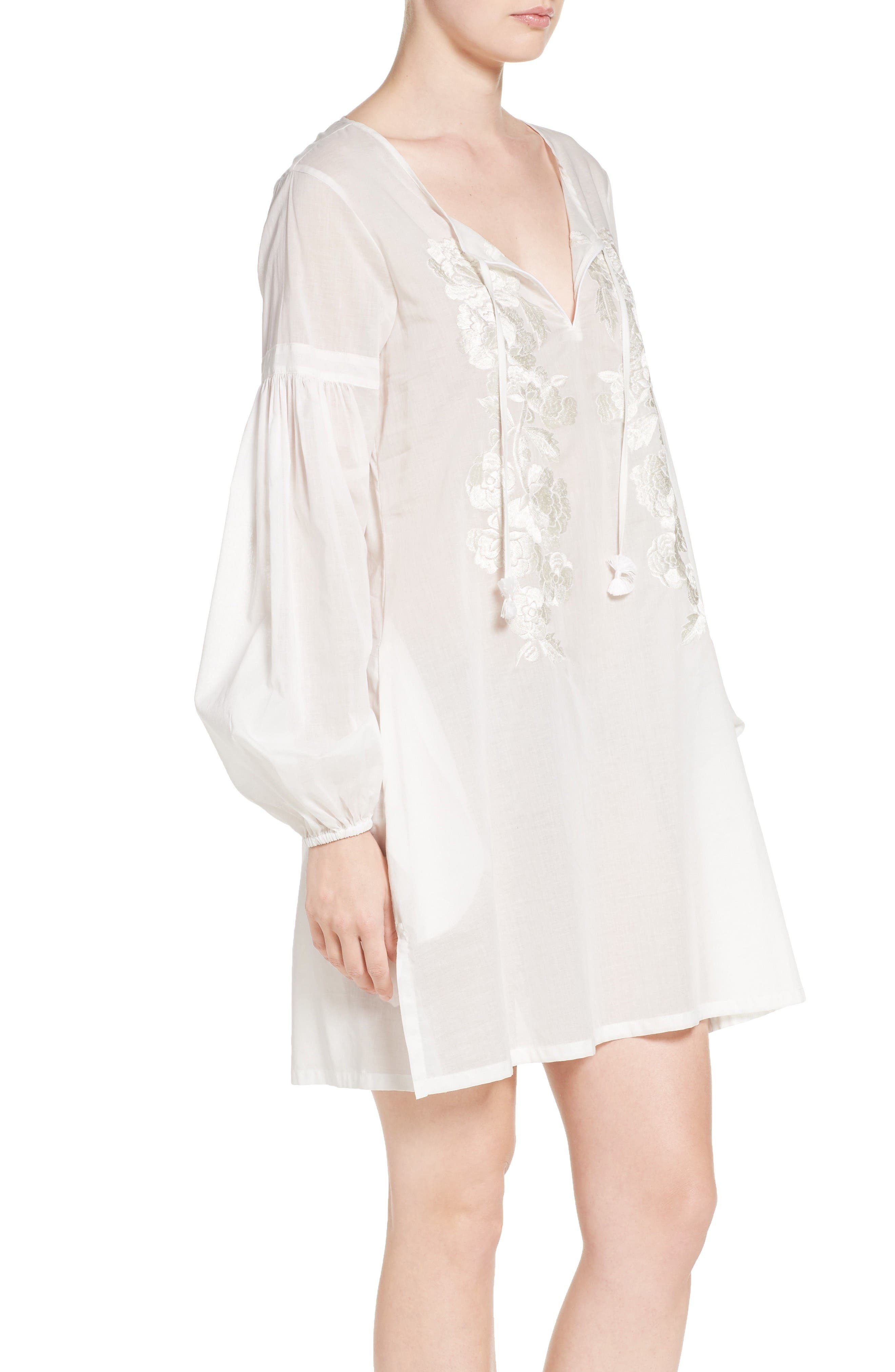 Alternate Image 3  - Natori Cebu Peasant Sleep Shirt