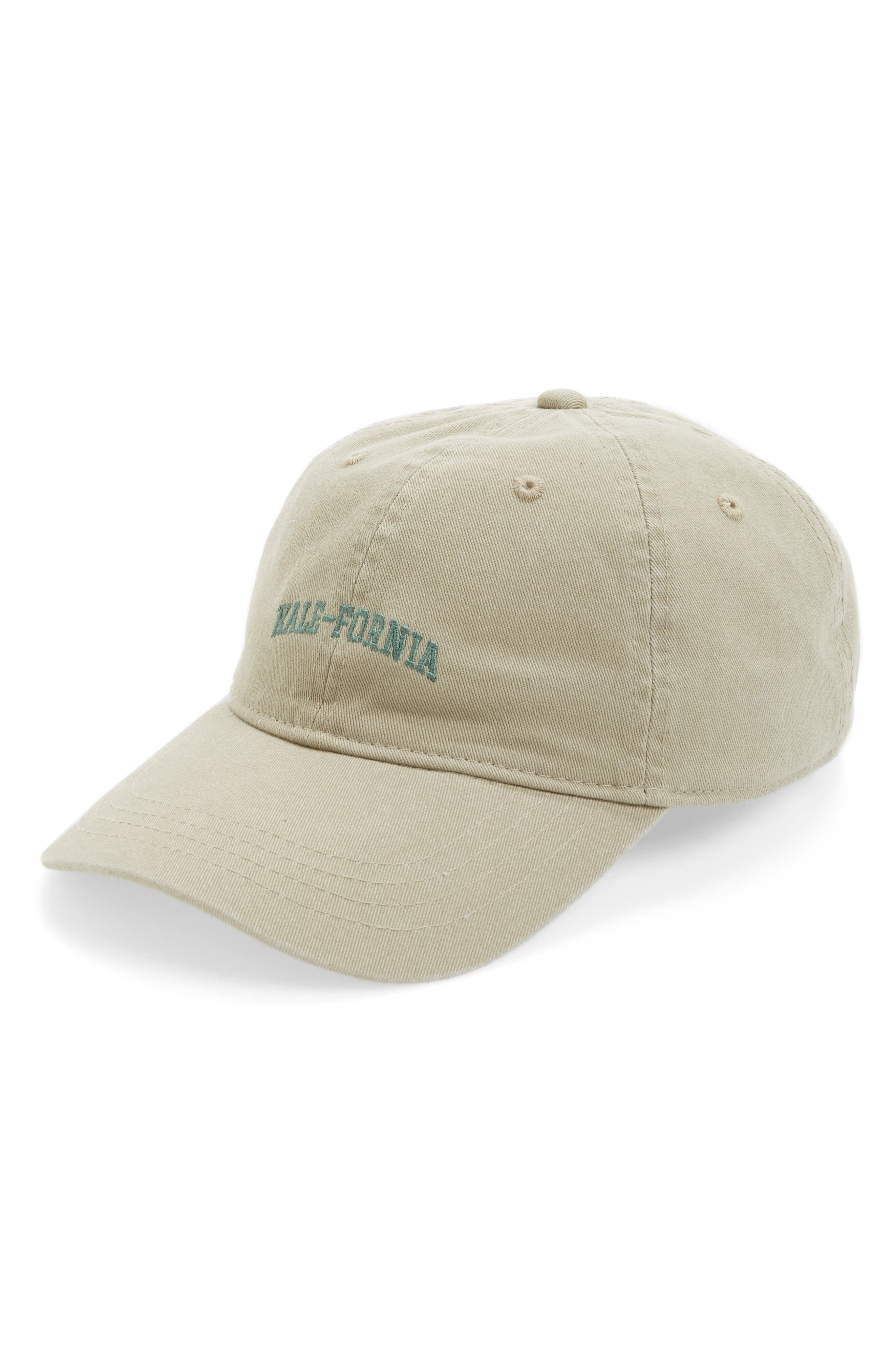Alternate Image 1 Selected - Body Rags Clothing Co. Twill Dad Kale-Fornia Cap
