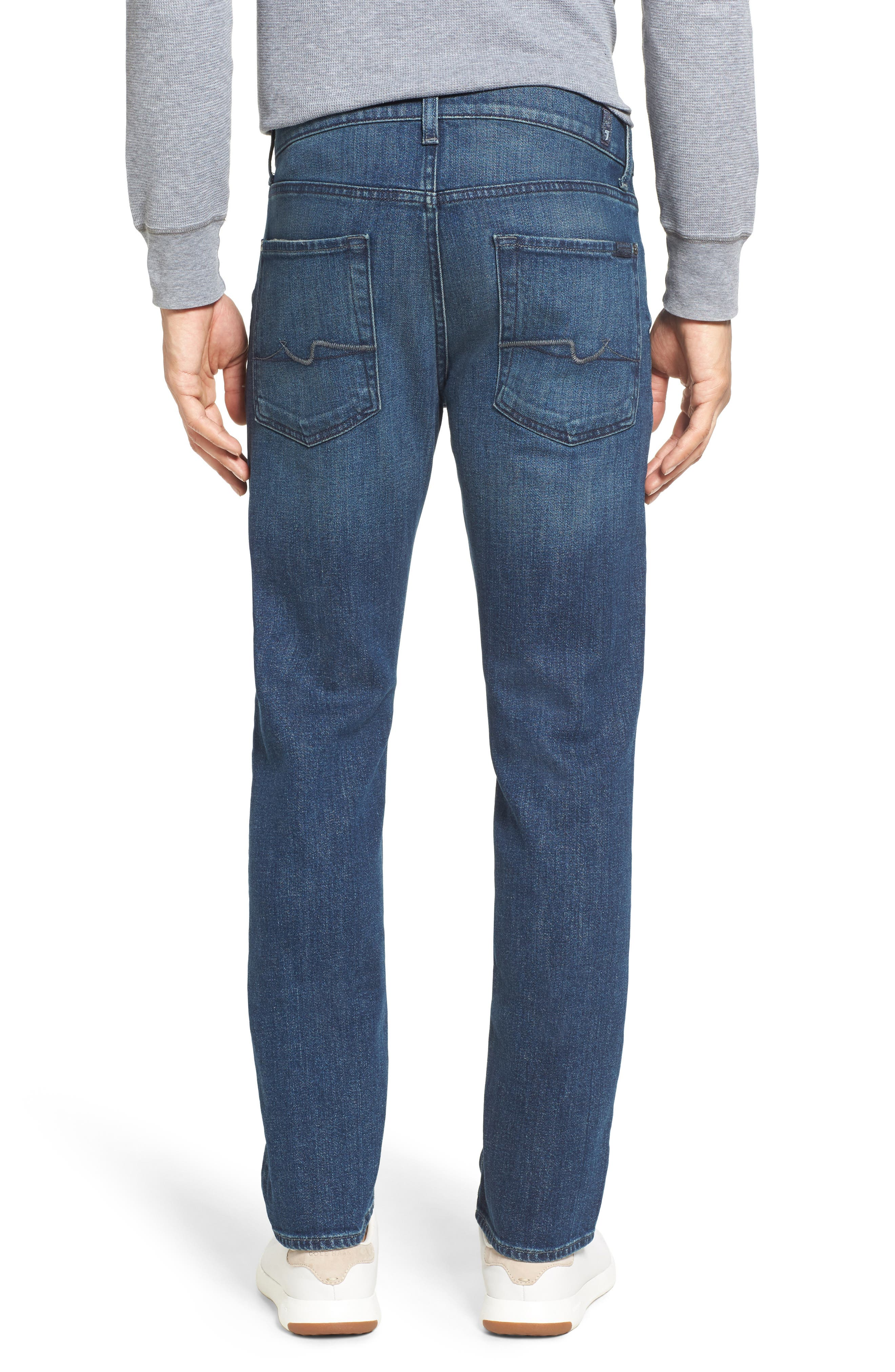 7 For All Mankind Slimmy Slim Fit Jeans,                             Alternate thumbnail 2, color,                             Calgary Blue