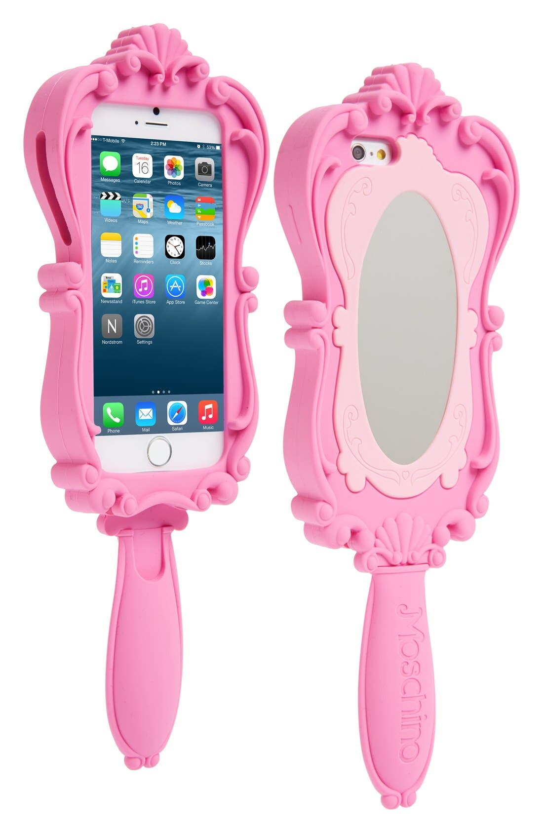 Alternate Image 1 Selected - Moschino Mirror iPhone 6 Case