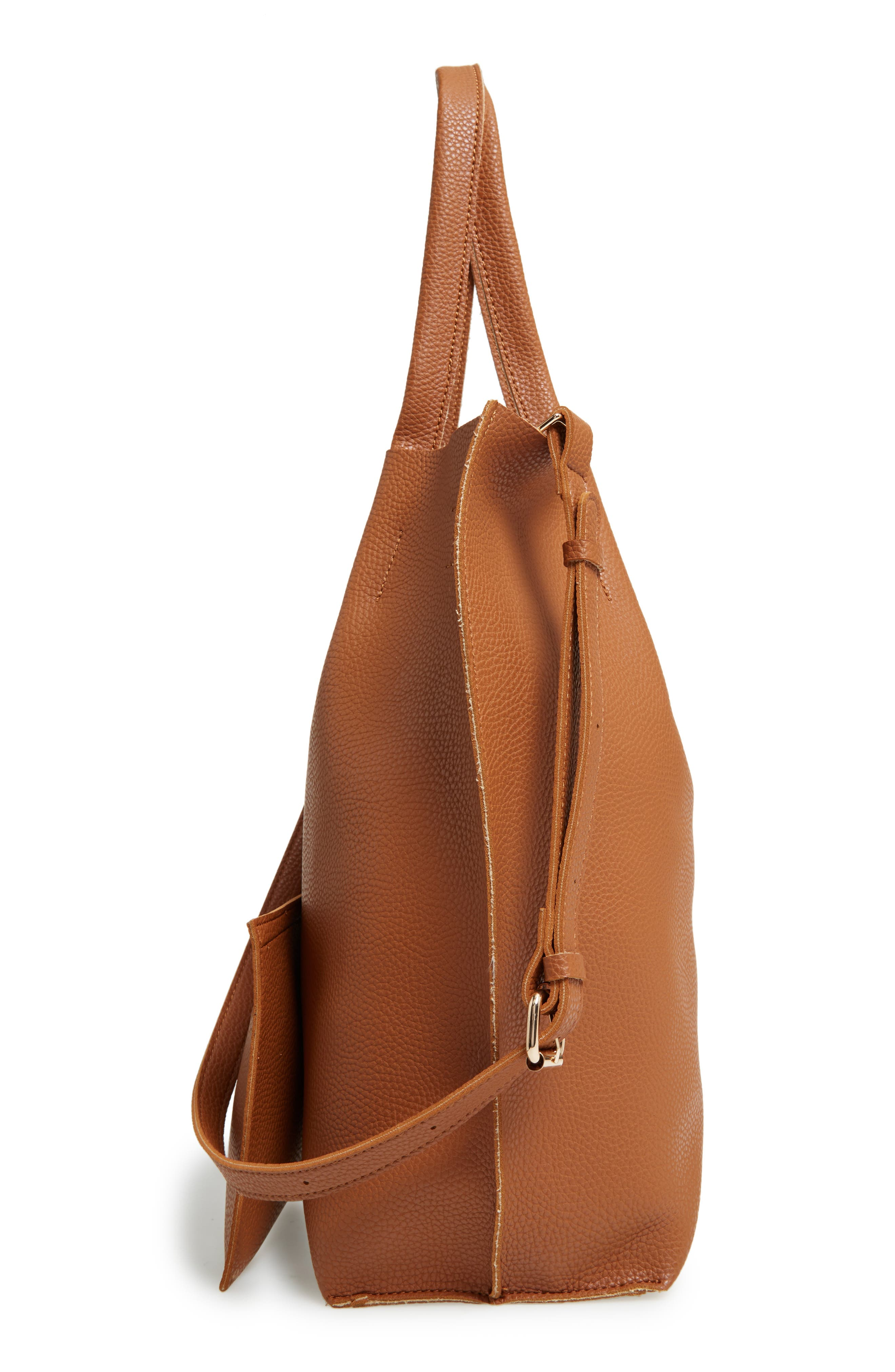 Alternate Image 3  - Sole Society Gramercy Faux Leather Tote