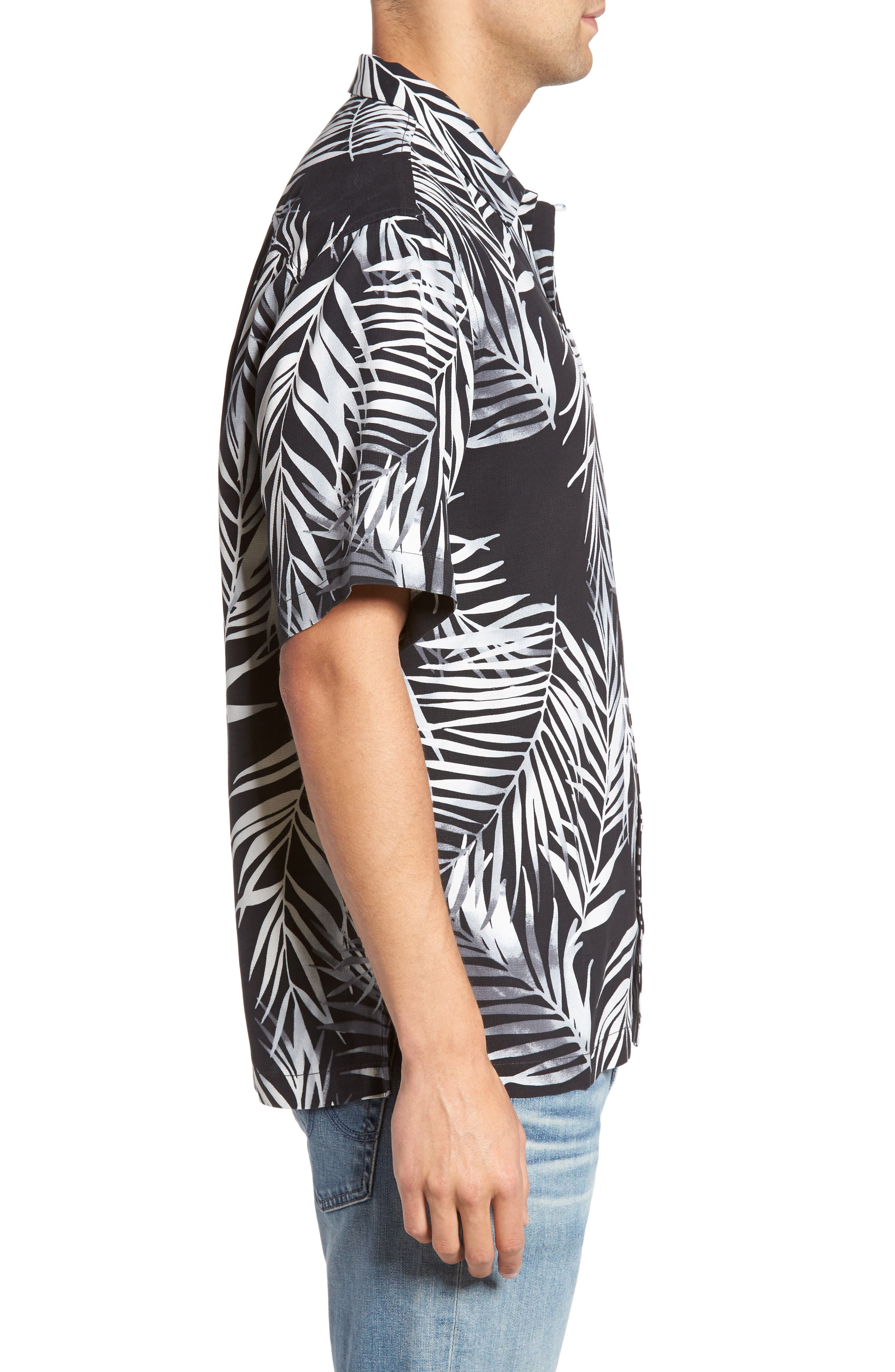 Alternate Image 3  - Tommy Bahama Beyond Frond Silk Camp Shirt