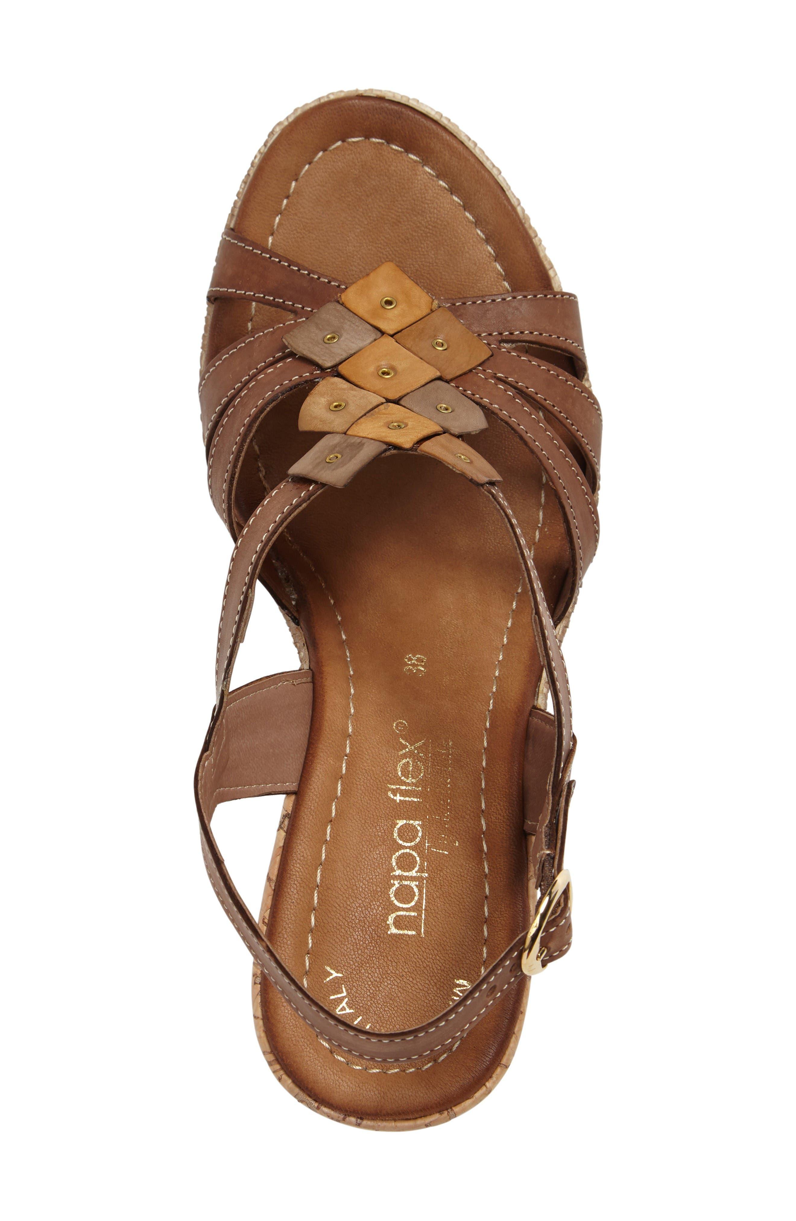 Alternate Image 3  - Napa Flex Bari Wedge Sandal (Women)
