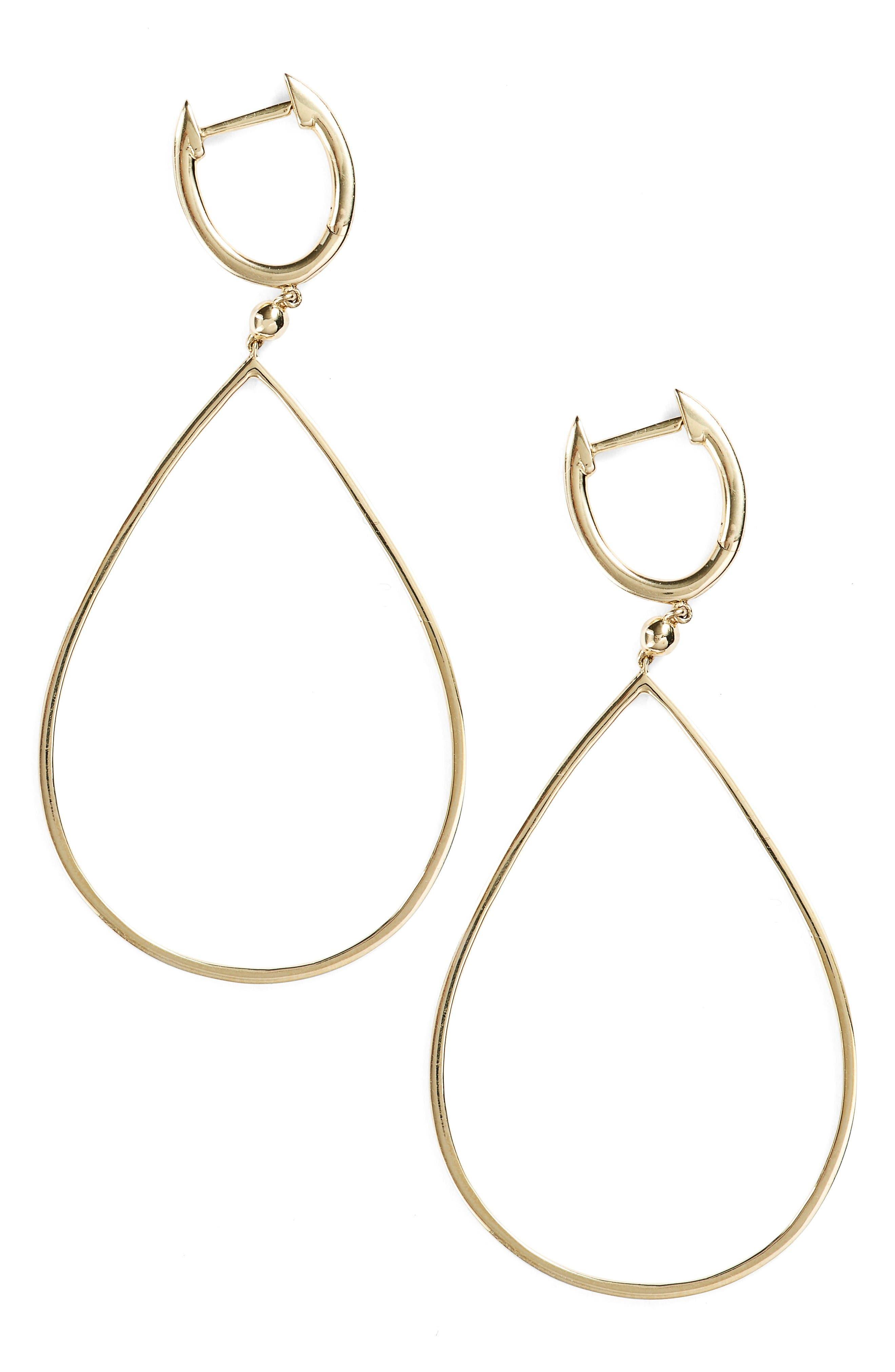 Alternate Image 1 Selected - Bony Levy Geo Teardrop Earrings (Nordstrom Exclusive)