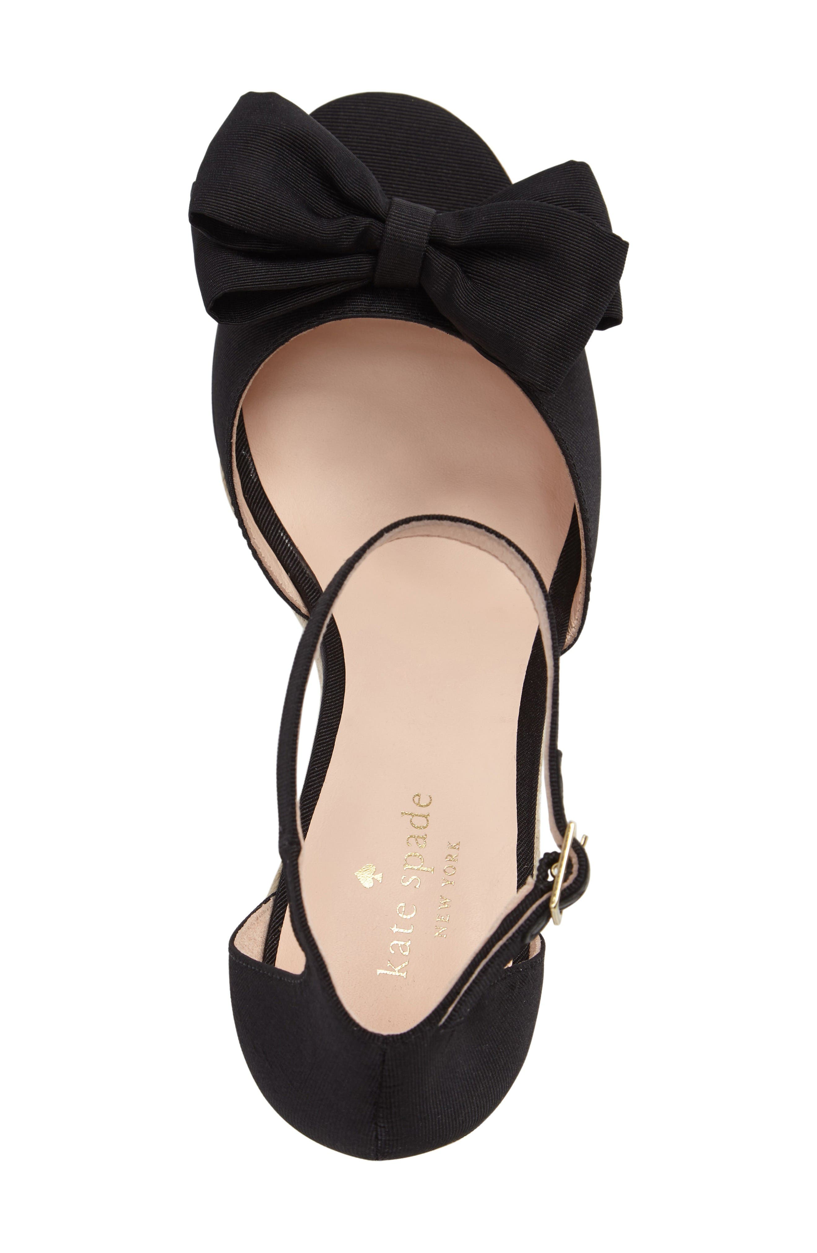 Alternate Image 3  - kate spade new york broome wedge sandal (Women)